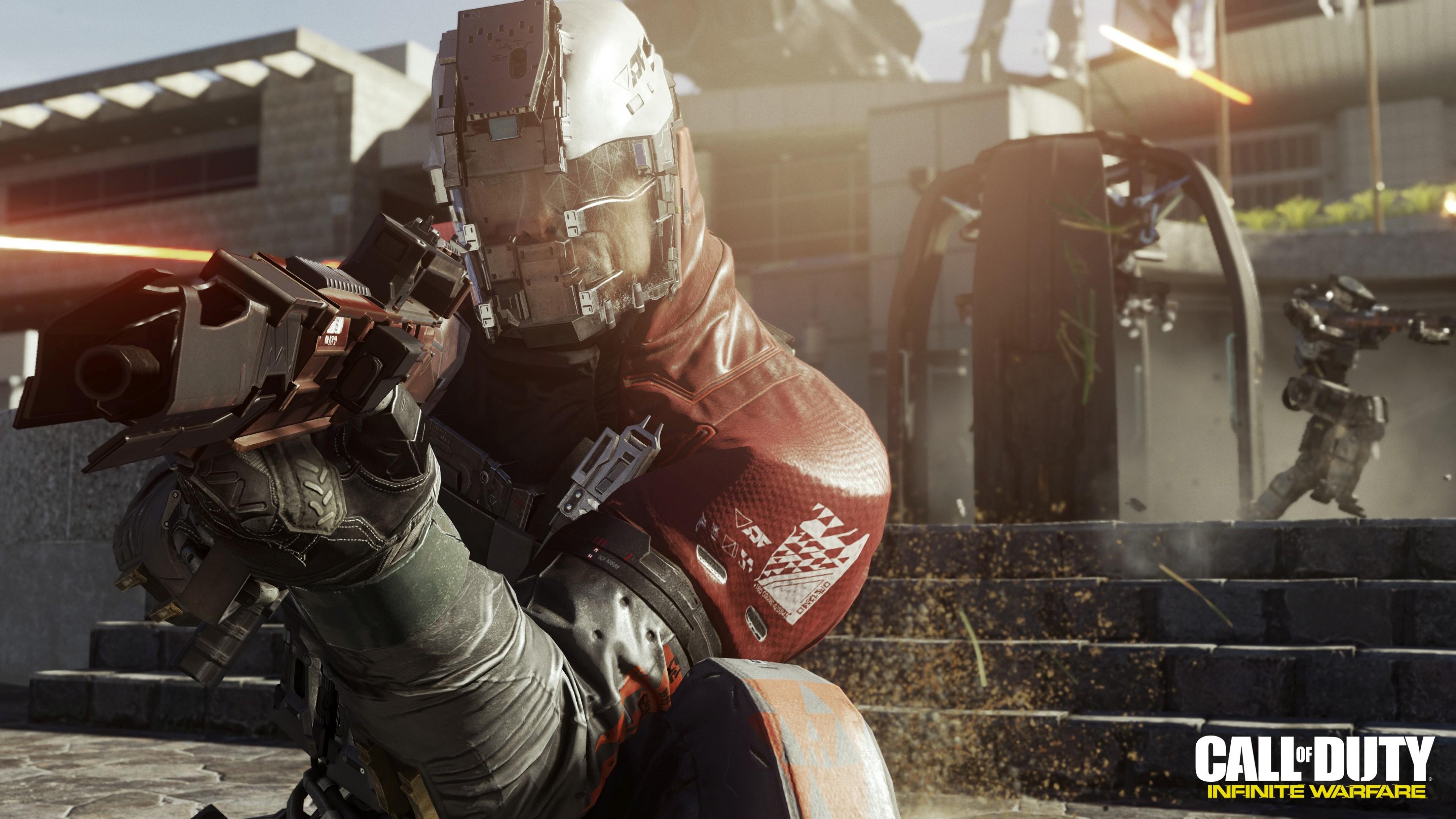 Wallpaper Call of Duty: Infinite Warfare, shooter, PC, PS 4