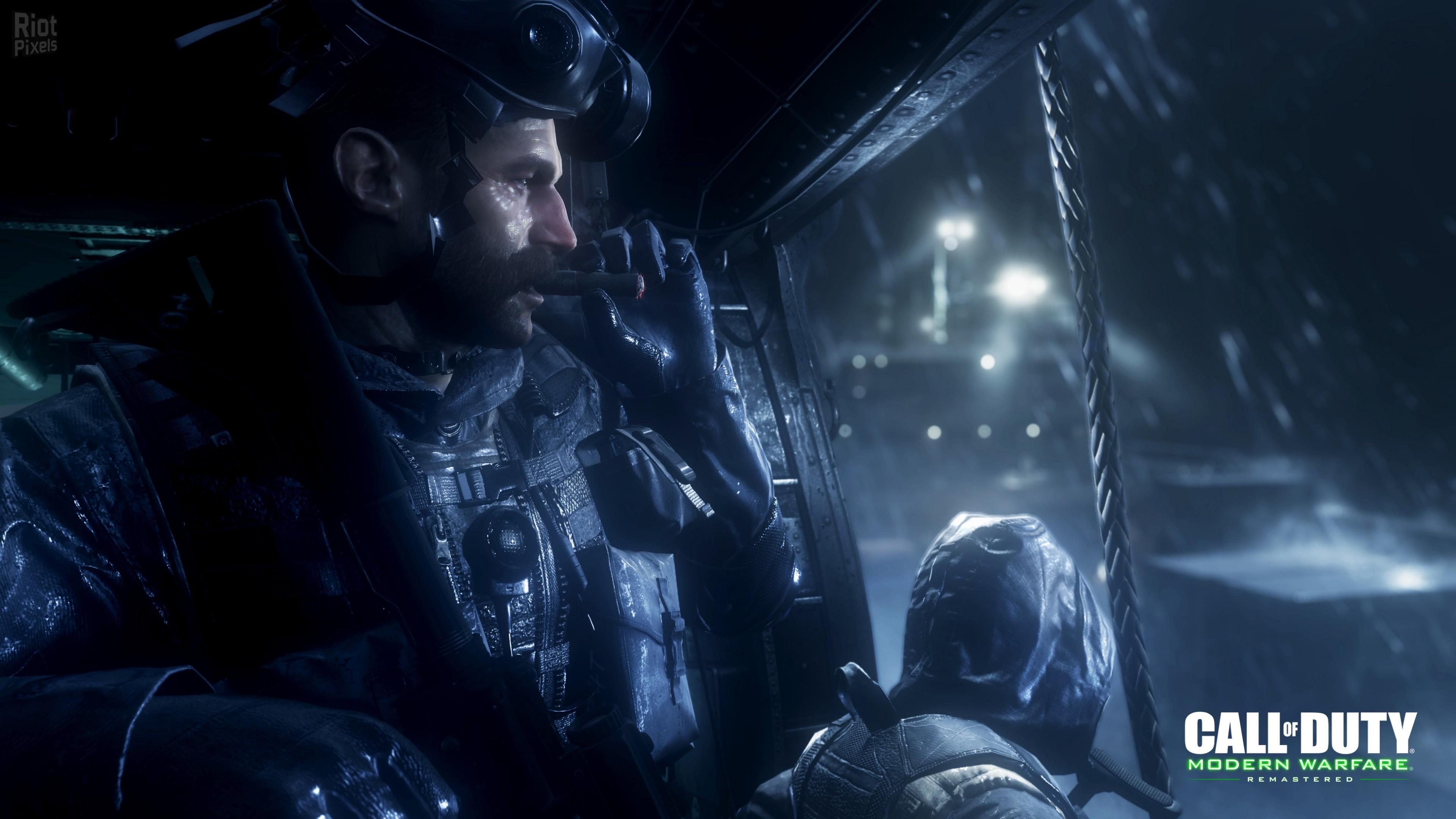Wallpaper Call Of Duty Modern Warfare Remastered Shooter Pc Ps