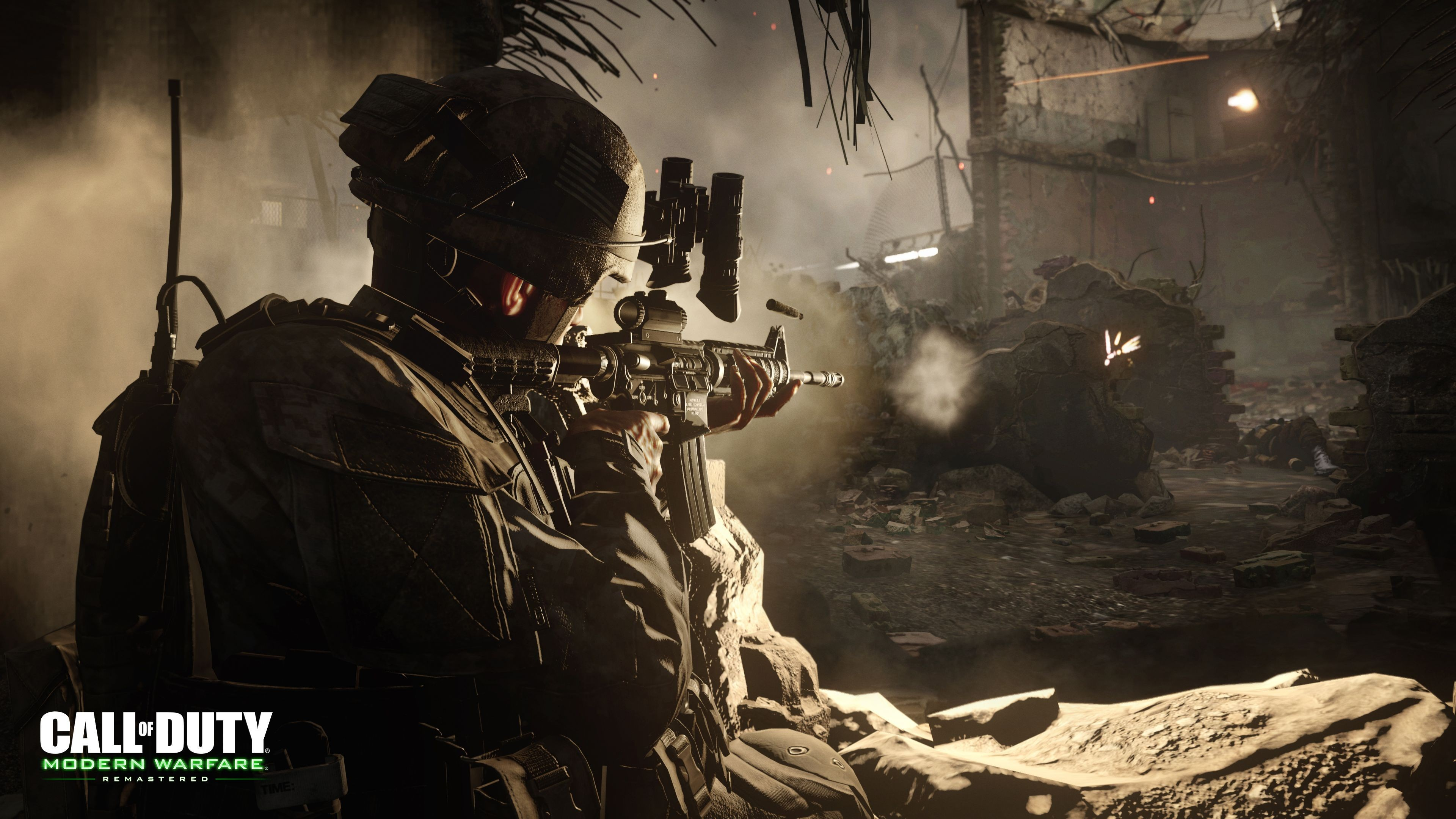 Wallpaper Call Of Duty Modern Warfare Remastered Shooter Pc Ps