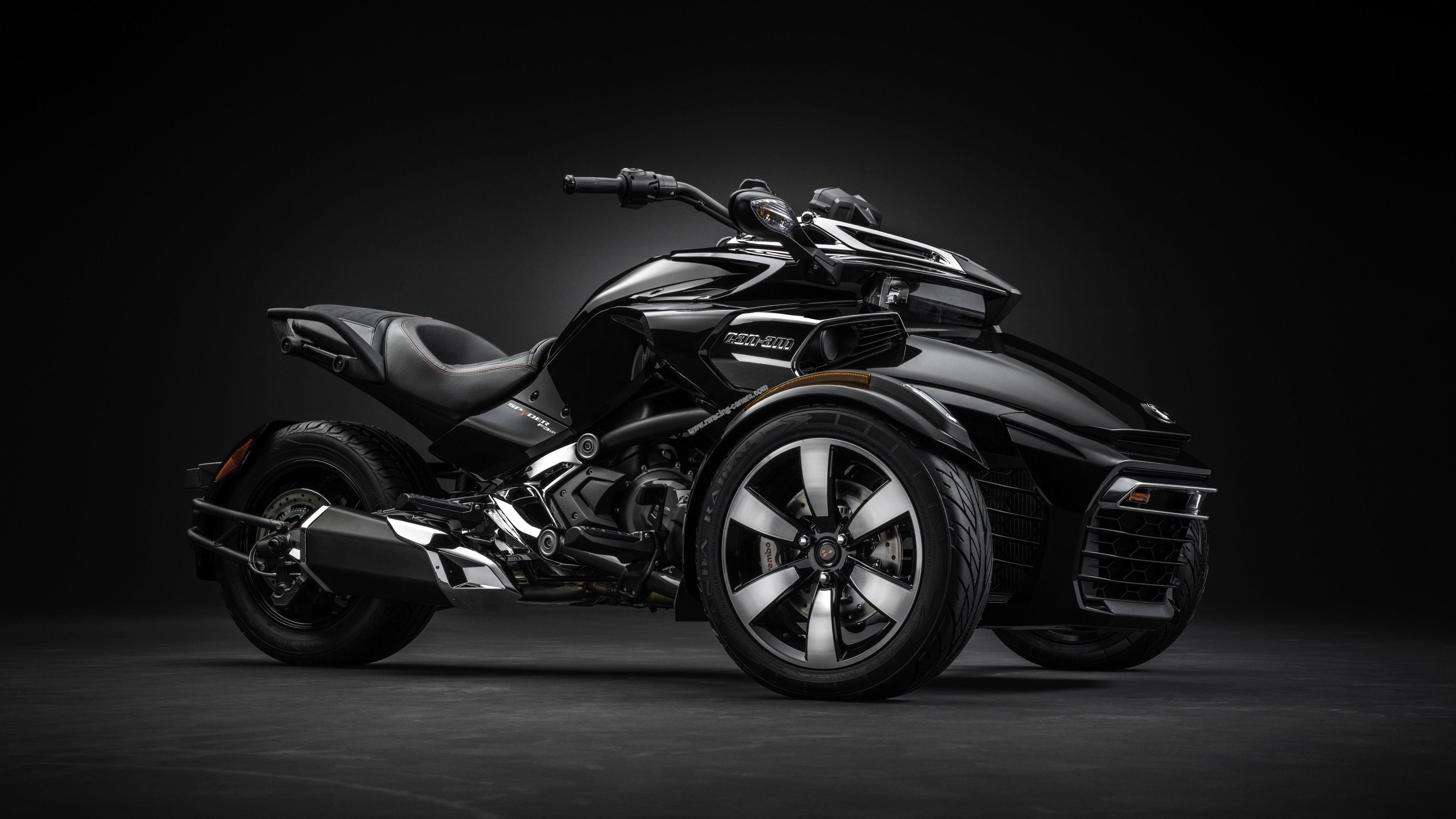 Wallpaper Can Am Spyder F3 T Concept Tricycle Cars