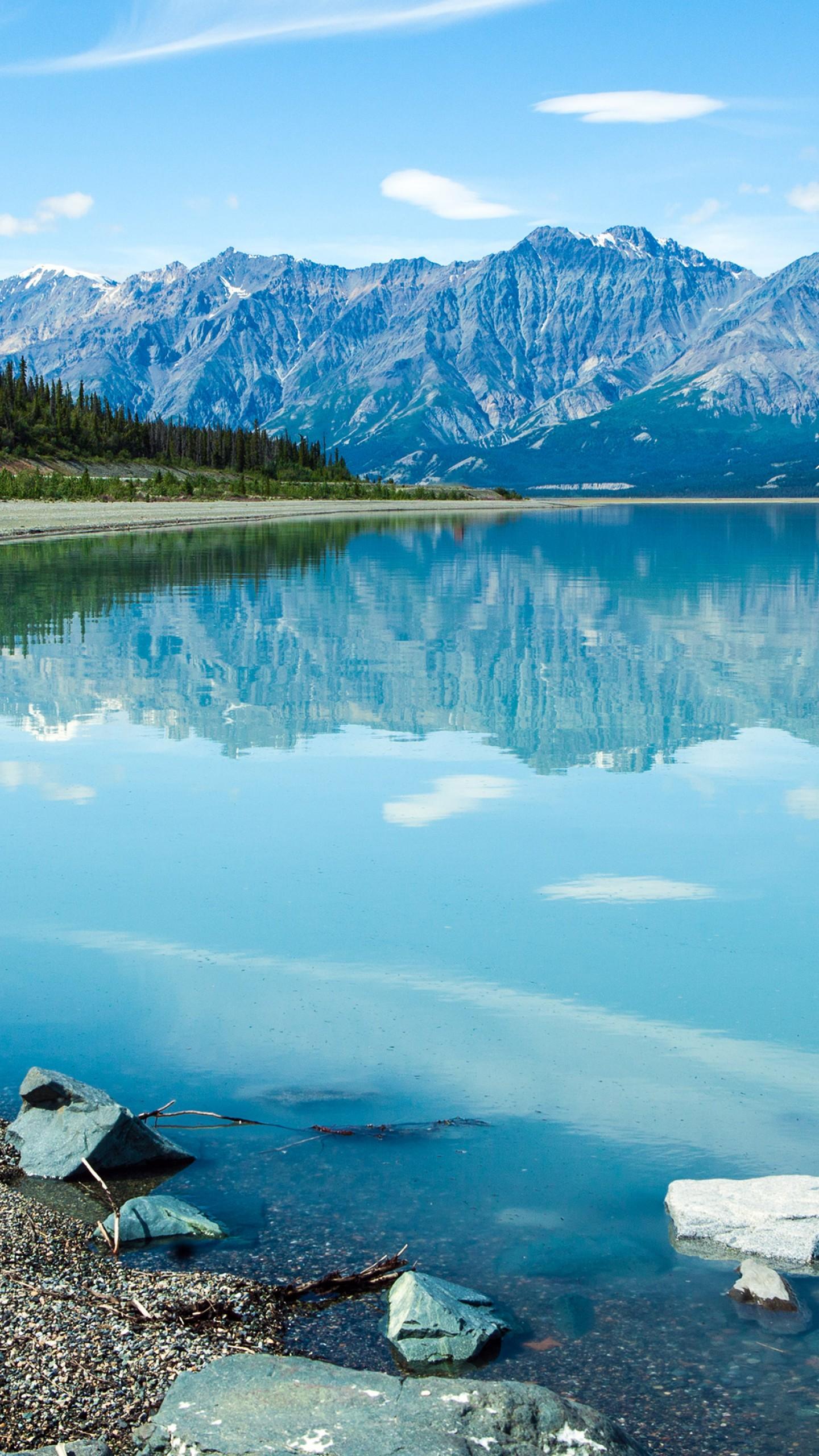 Wallpaper Canada 5k 4k Wallpaper Kluane Lake Yukon Landscape Mountain Nature 12505