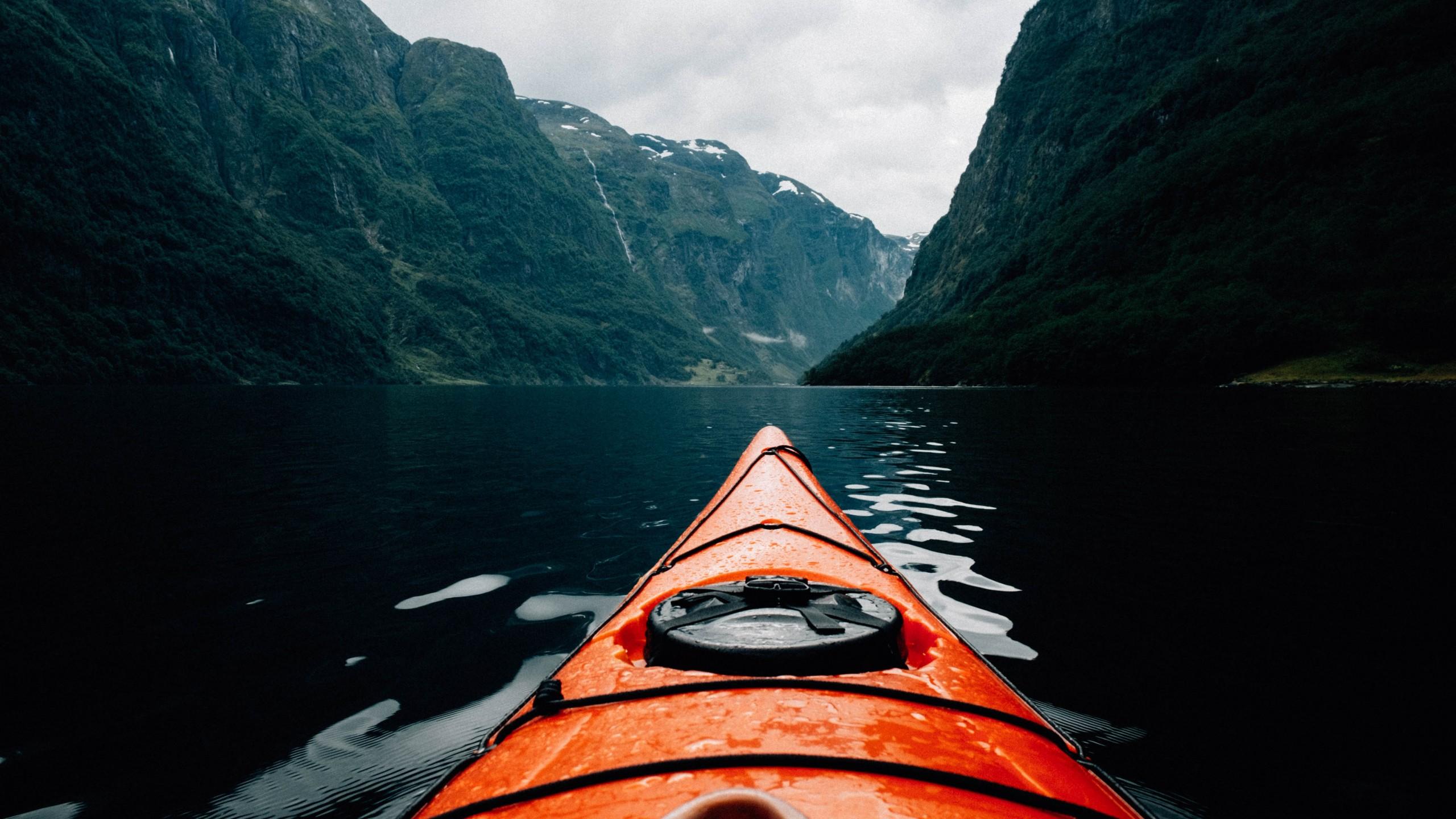 Wallpaper Canoe, Scandinavia, Europe, 5K, Travel #18949