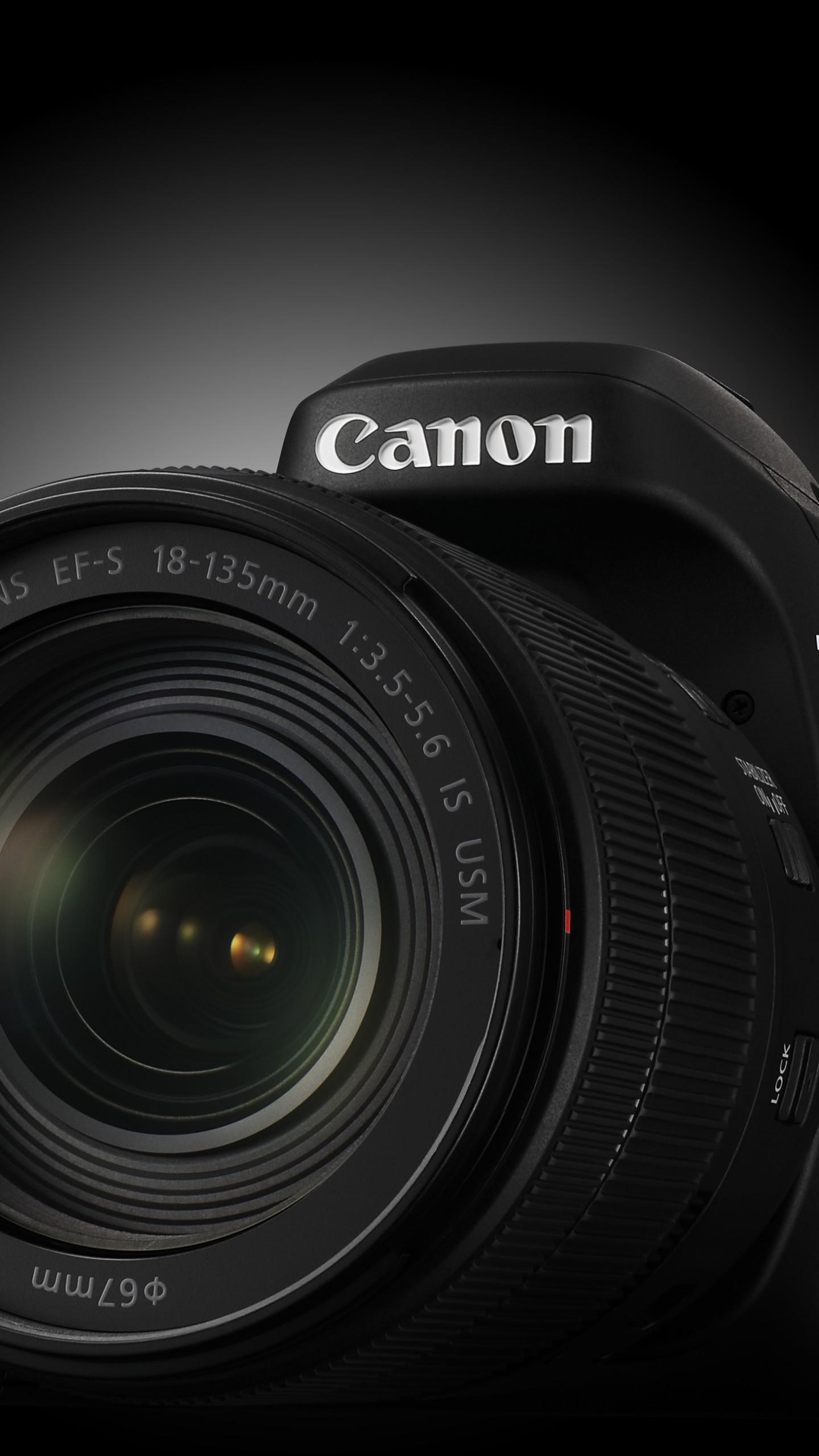 Wallpaper Canon EOS 80D, lens EF-S 18–135mm f/3.5–5.6 ...