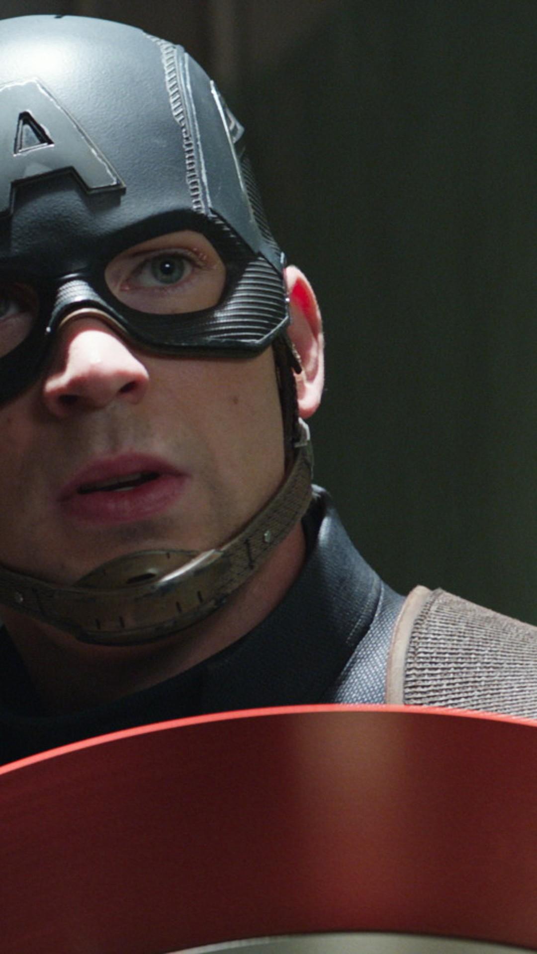 Wallpaper Captain America 3 Civil War Chris Evans