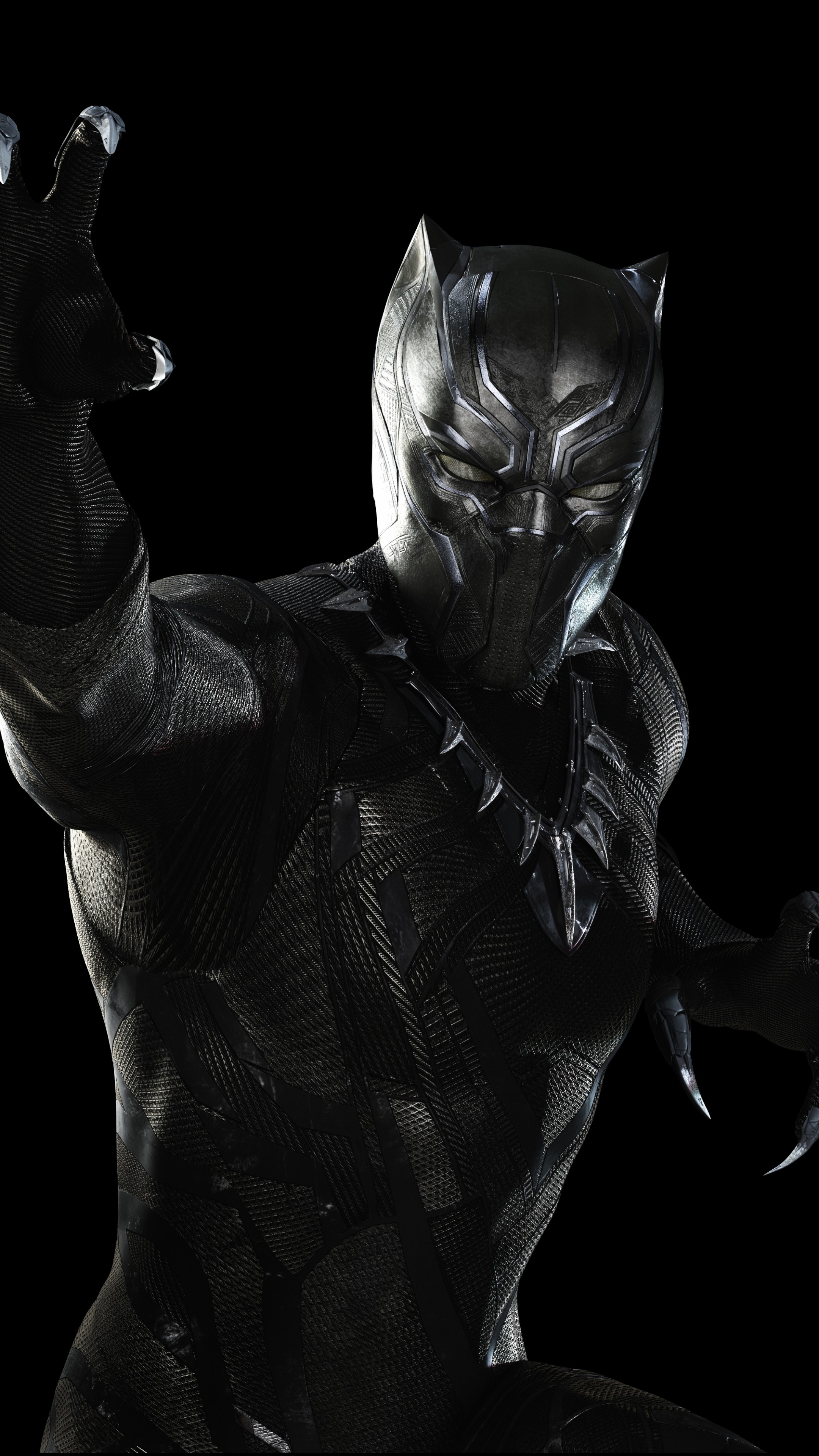 Wallpaper Captain America 3 Civil War Black Panther Marvel Best