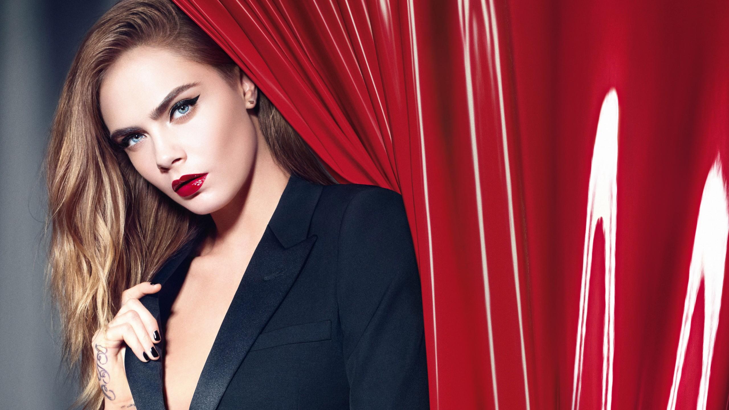 Wallpaper Cara Delevingne, Top Fashion Models, Model