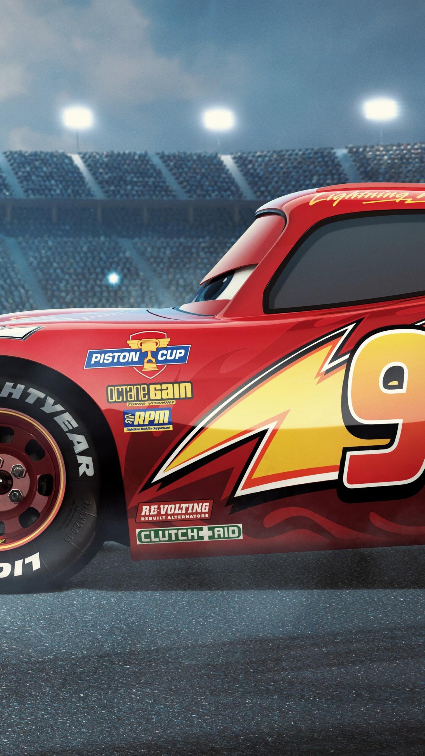 Wallpaper Cars 3, 4k, Lightning McQueen, poster, Movies #14170