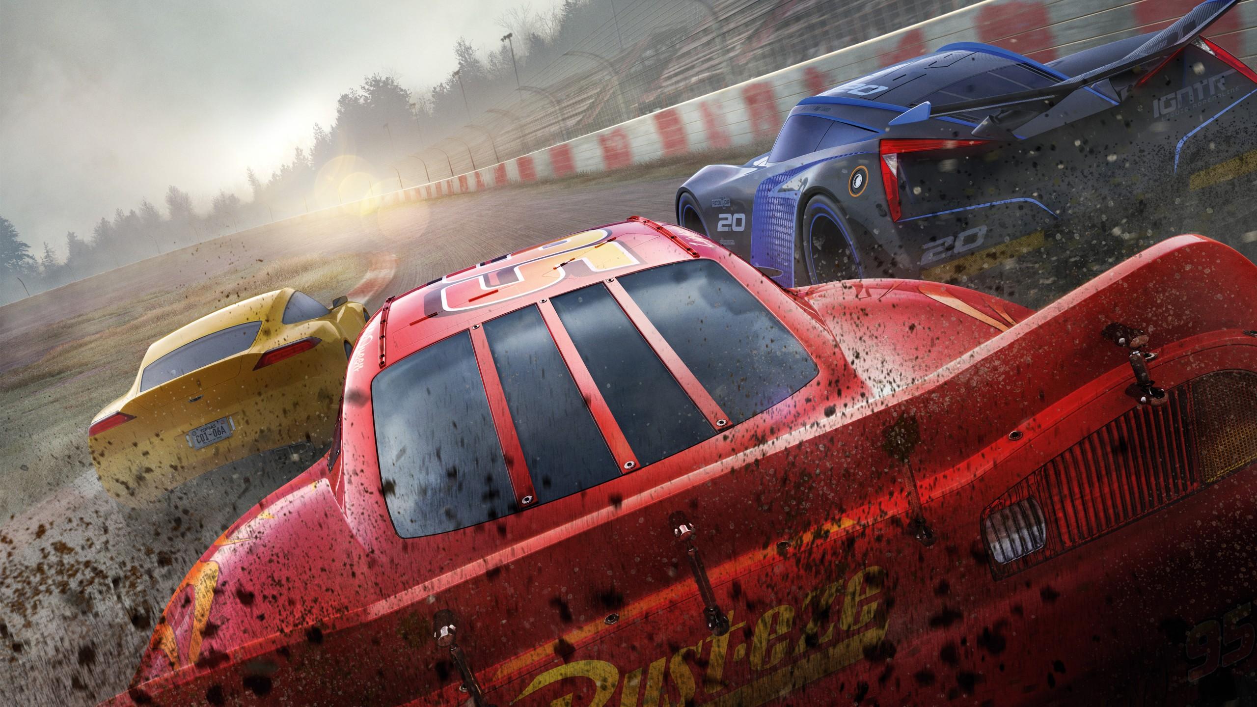 Wallpaper Cars 3, 4k, Lightning McQueen, poster, Movies #14171