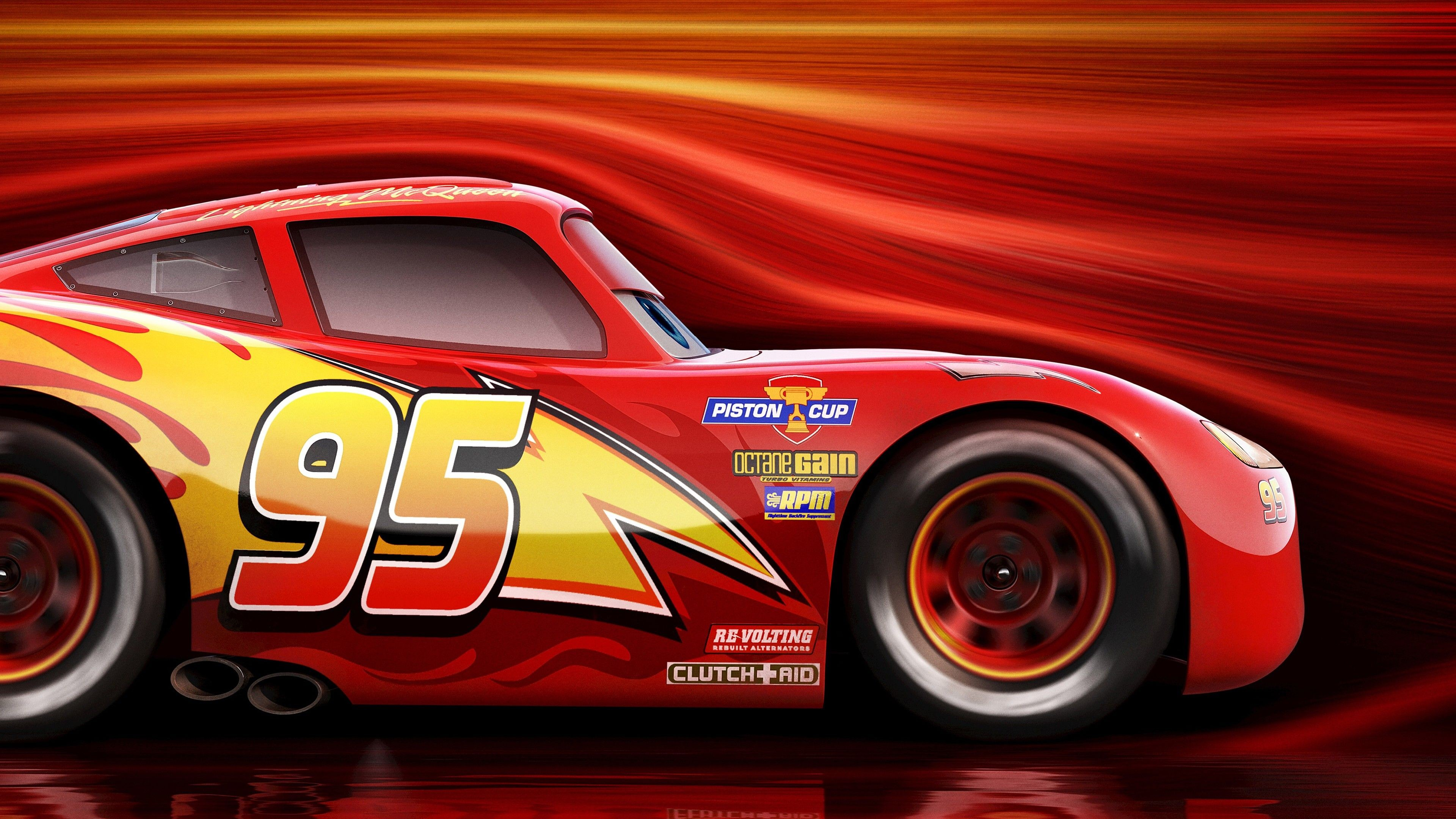 Wallpaper Cars 3 4k Lightning Mcqueen Poster Movies 13672