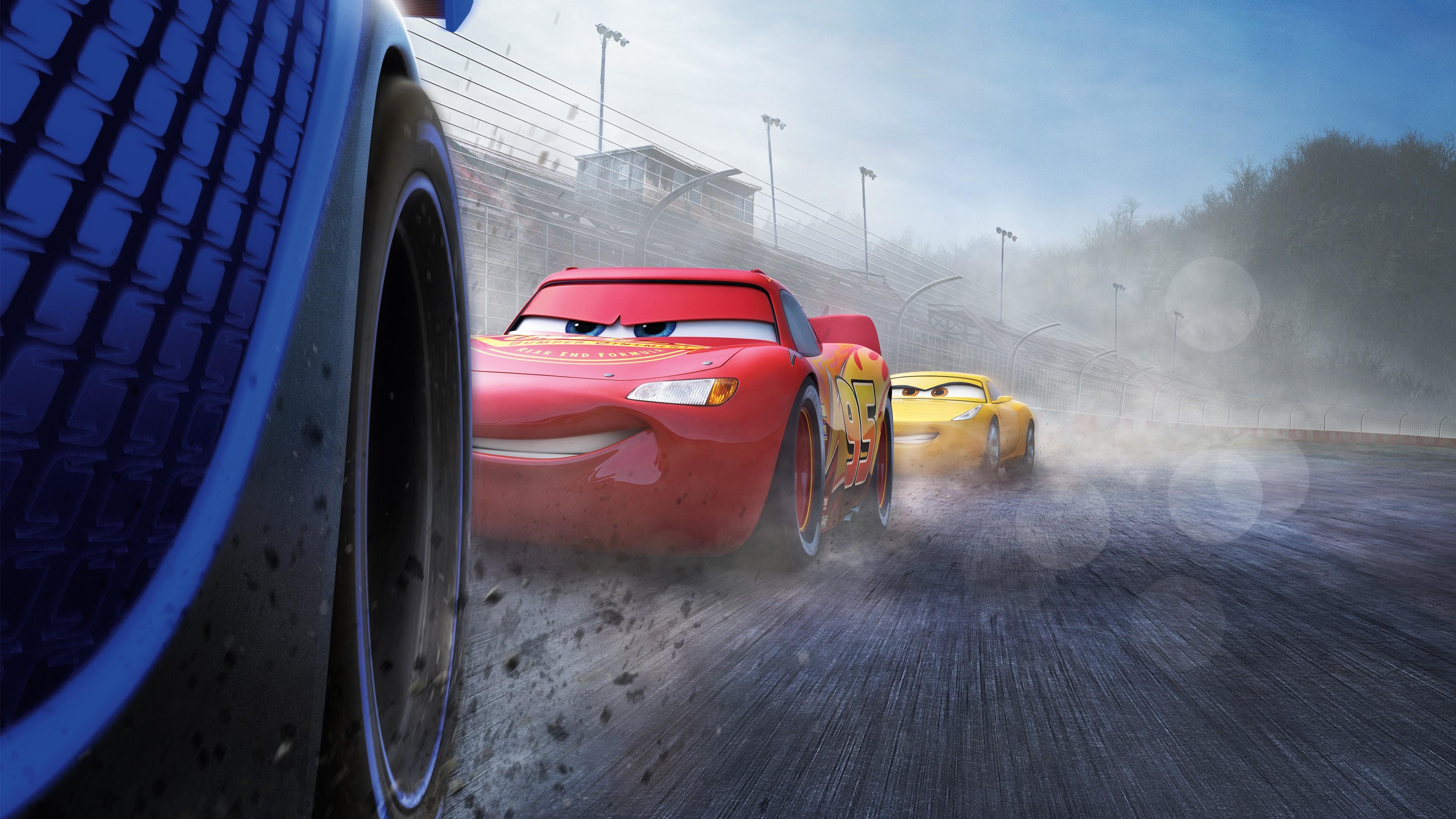 Wallpaper Cars 3 4k Lightning Mcqueen Poster Movies 13681