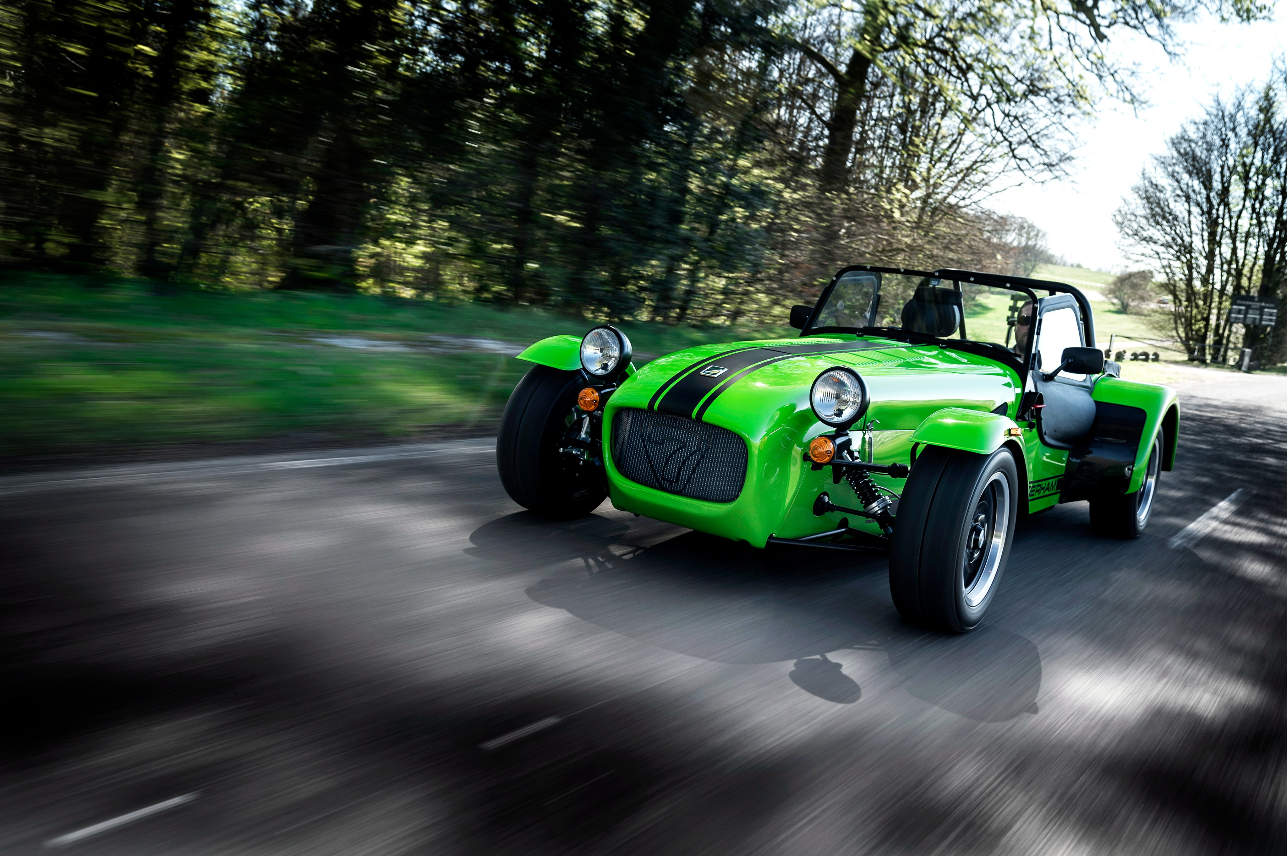 Wallpaper Caterham Seven 275 R Caterham 7 Green Cars