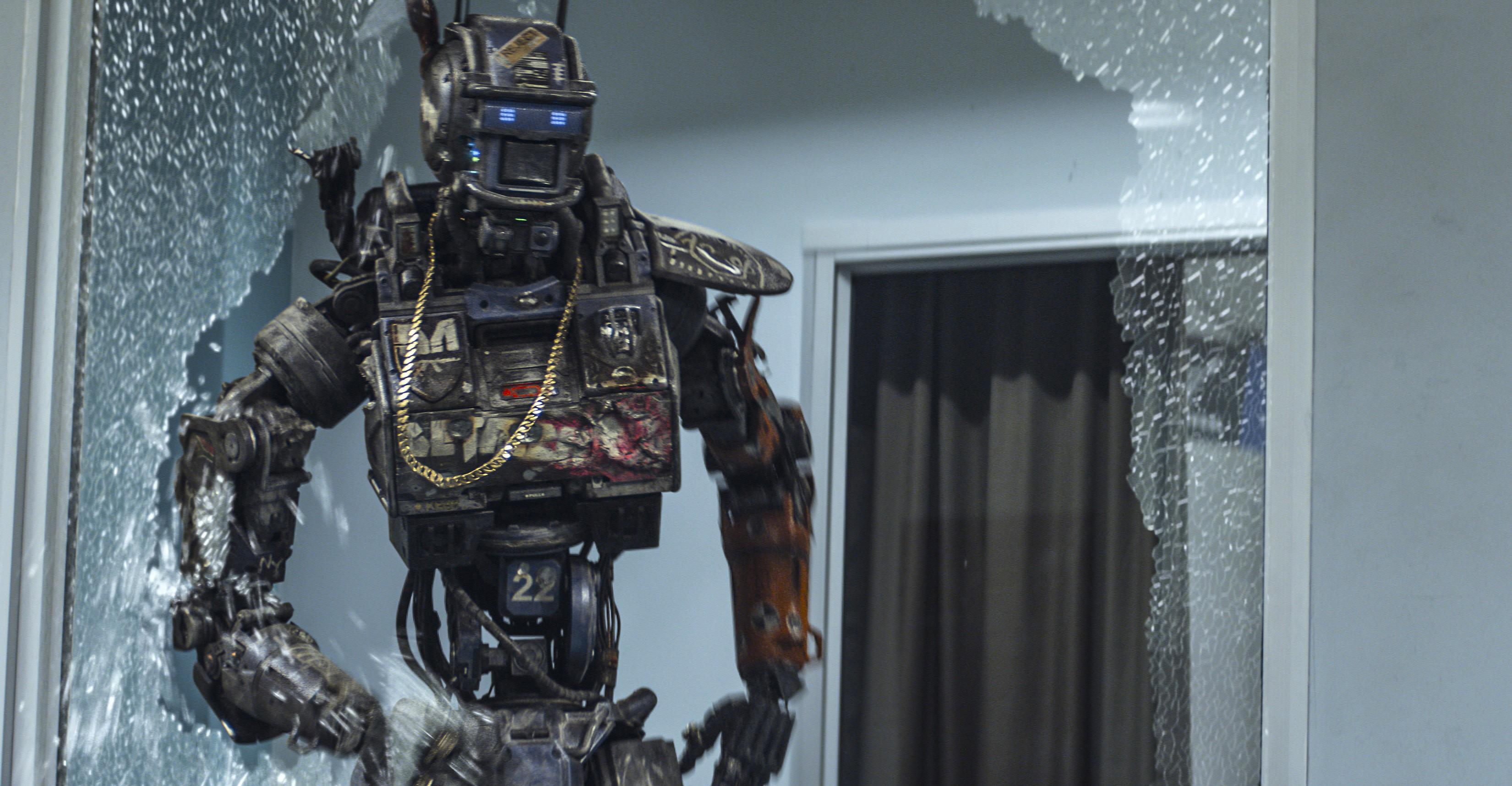 Wallpaper chappie best movies of 2015 wallpaper robot for Wallpaper home 2015