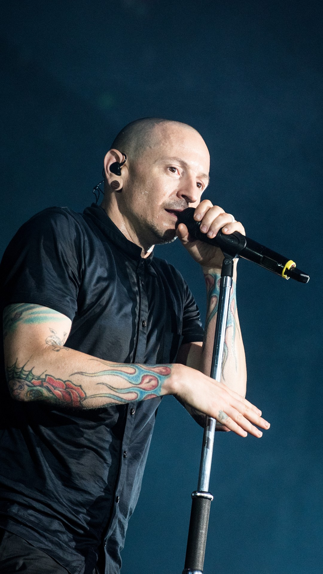 Wallpaper Chester Bennington Photo 5k Music 14734