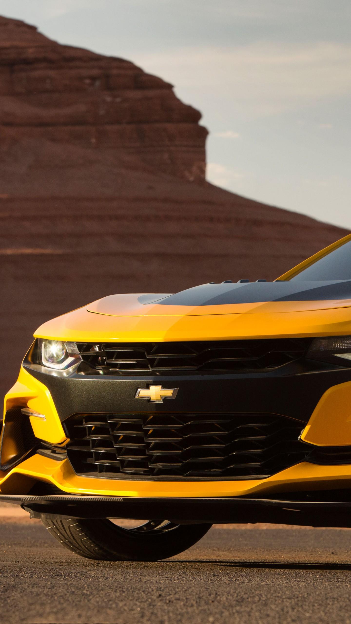 Wallpaper Chevrolet Camaro, Bumblebee, Transformers: The ...