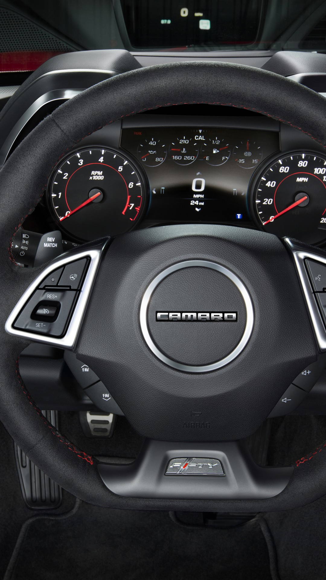 Wallpaper Chevrolet Camaro ZL1, NYIAS 2016, interior, Cars ...