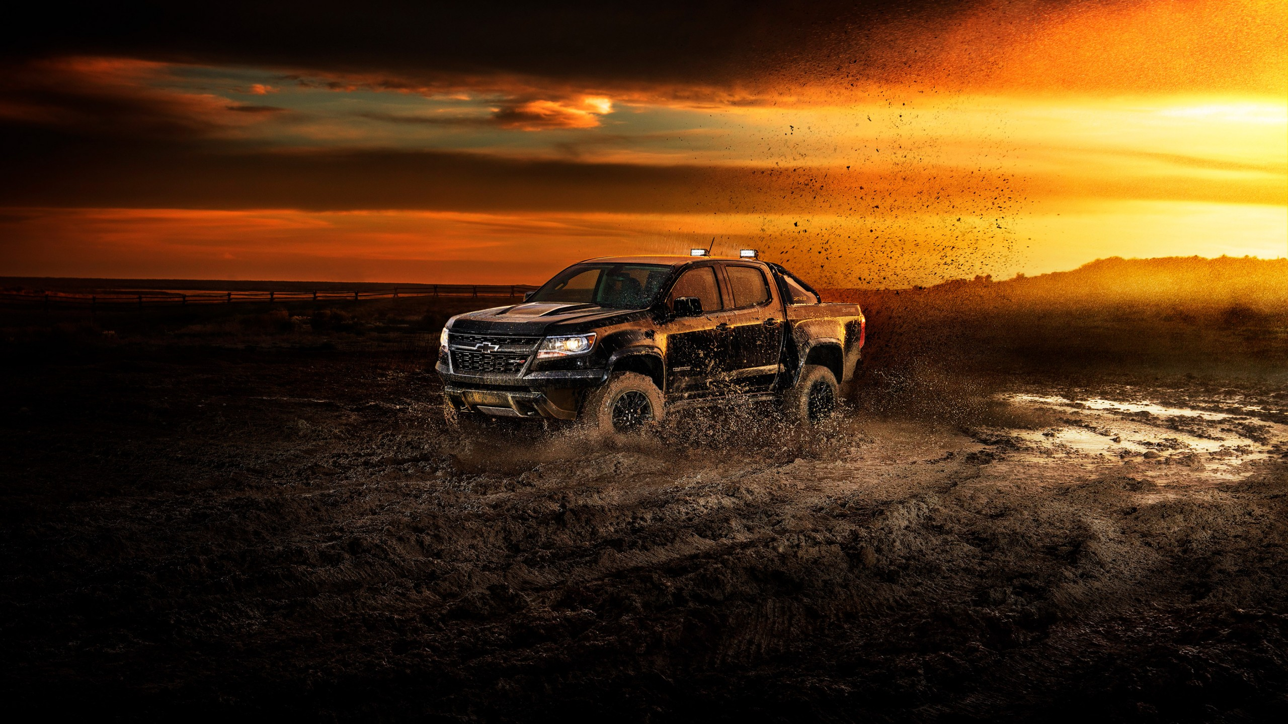 Wallpaper Chevrolet Colorado ZR2, 2018 Cars, 4k, Cars ...