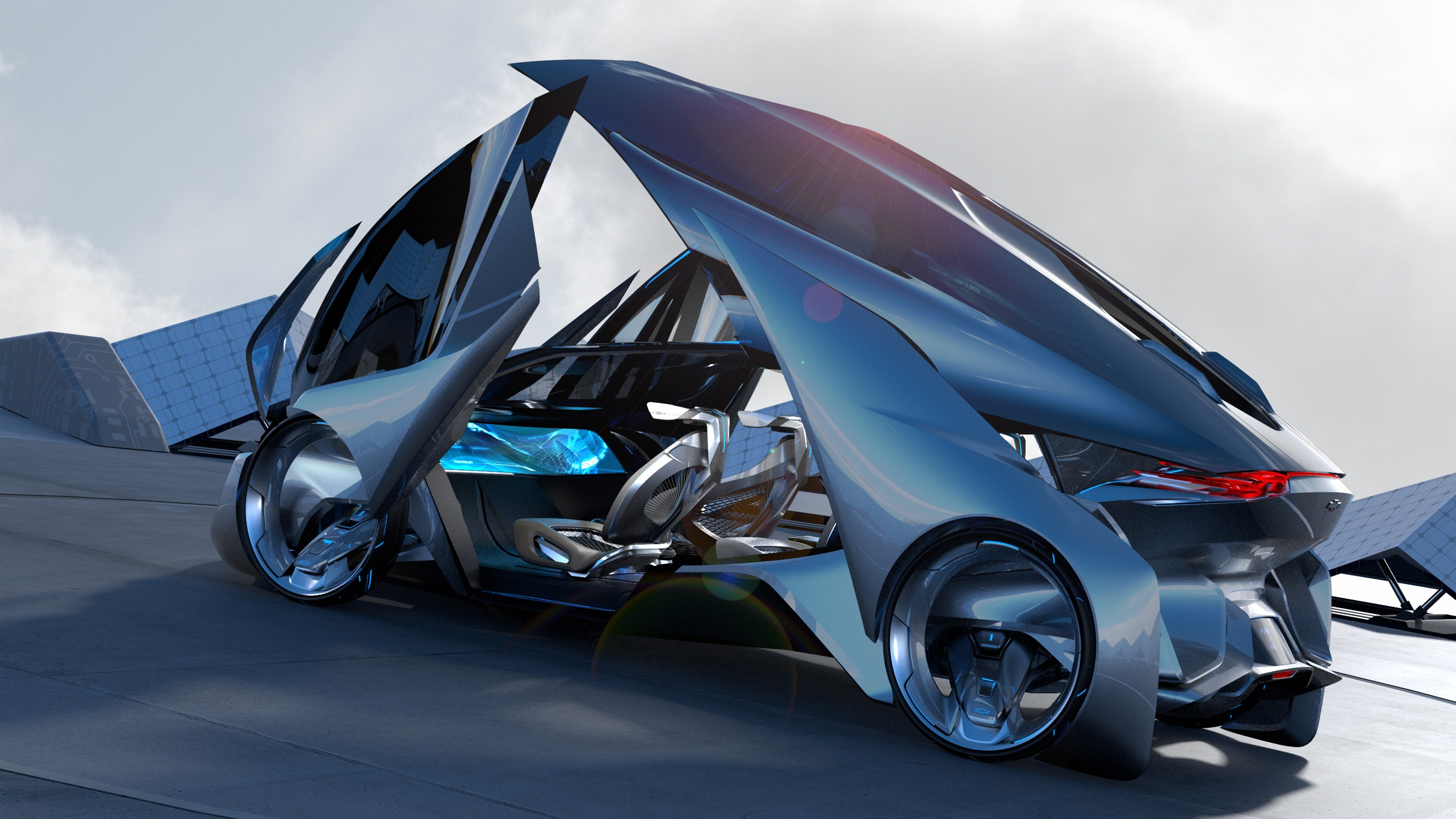 chevrolet fnr concept chevrolet sports car frankfurt 2015 future cars - Sports Cars Of The Future