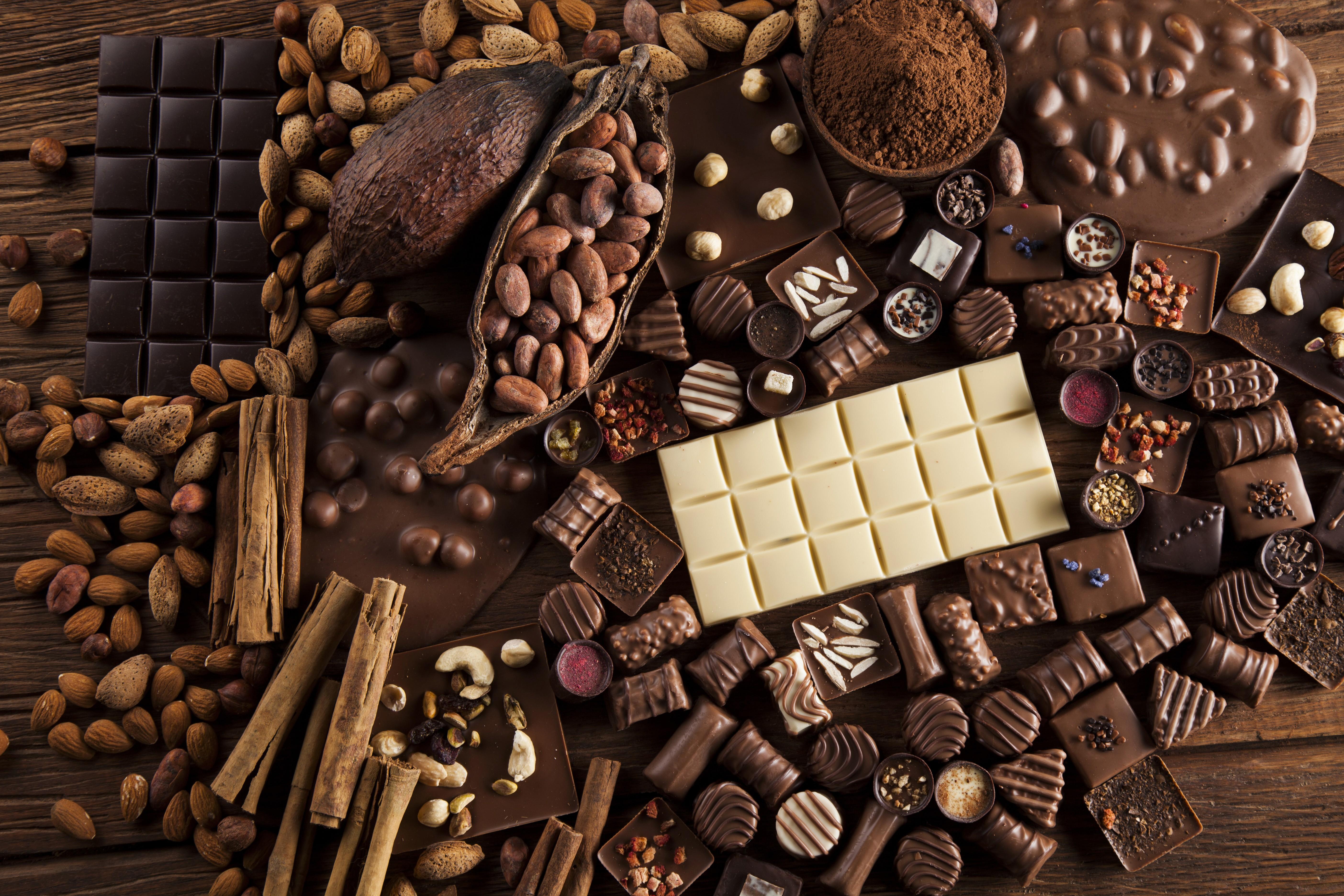 Wallpaper Chocolate Cocoa Delicious 5k Food 17848