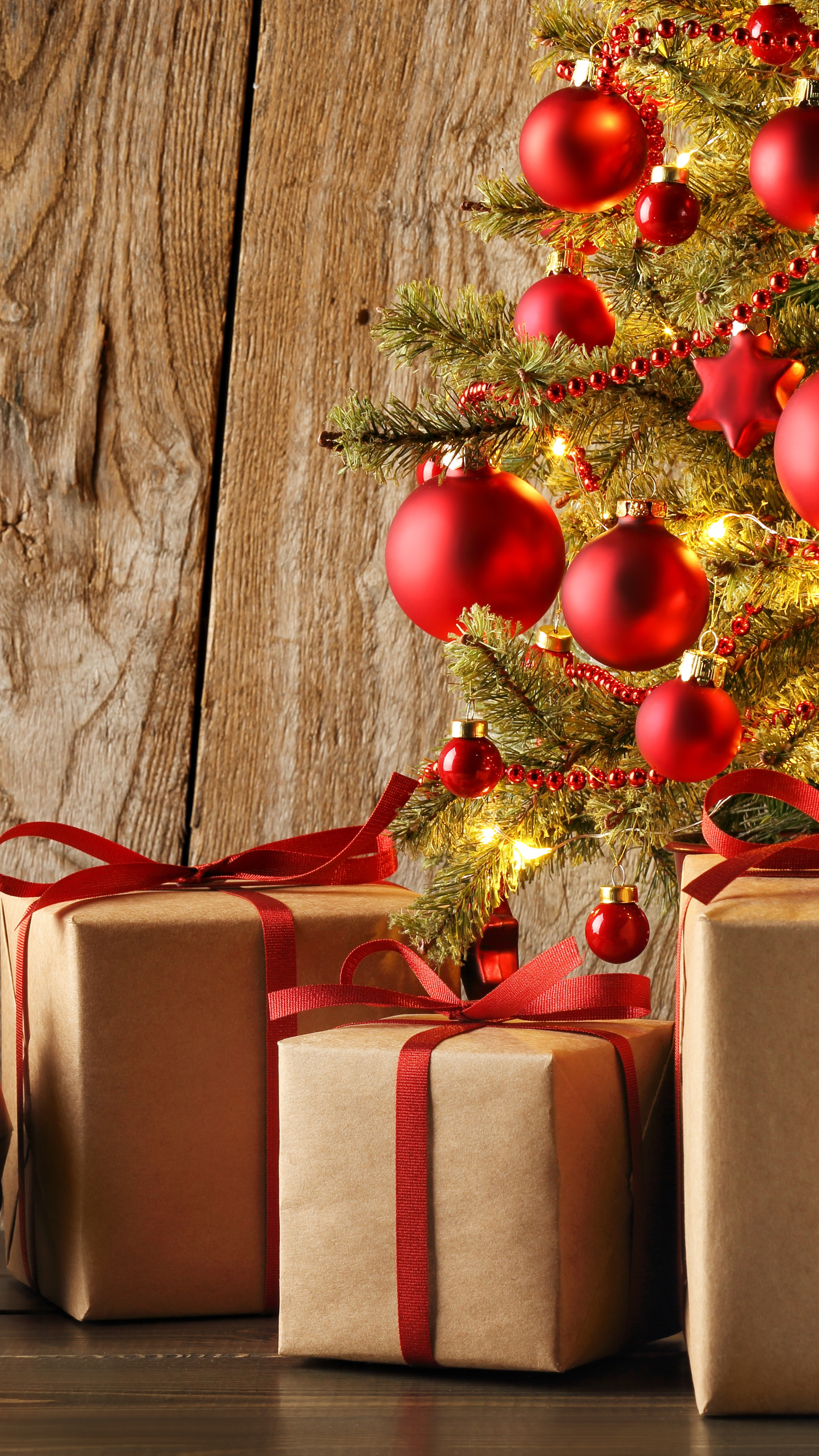 Wallpaper Christmas New Year Gifts 4k Holidays 16689