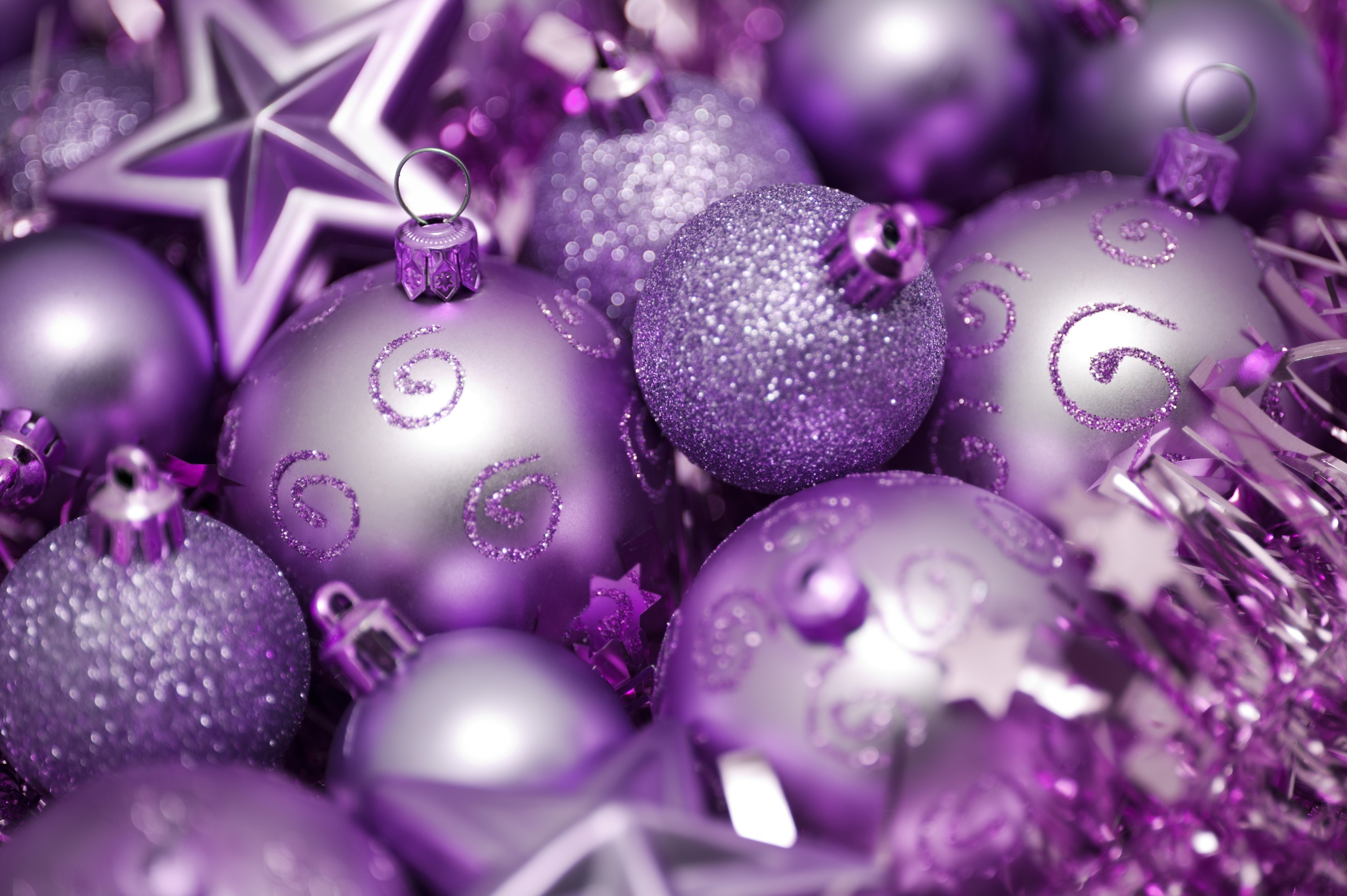 Lavender christmas ornaments - Your Resolution 1024x1024