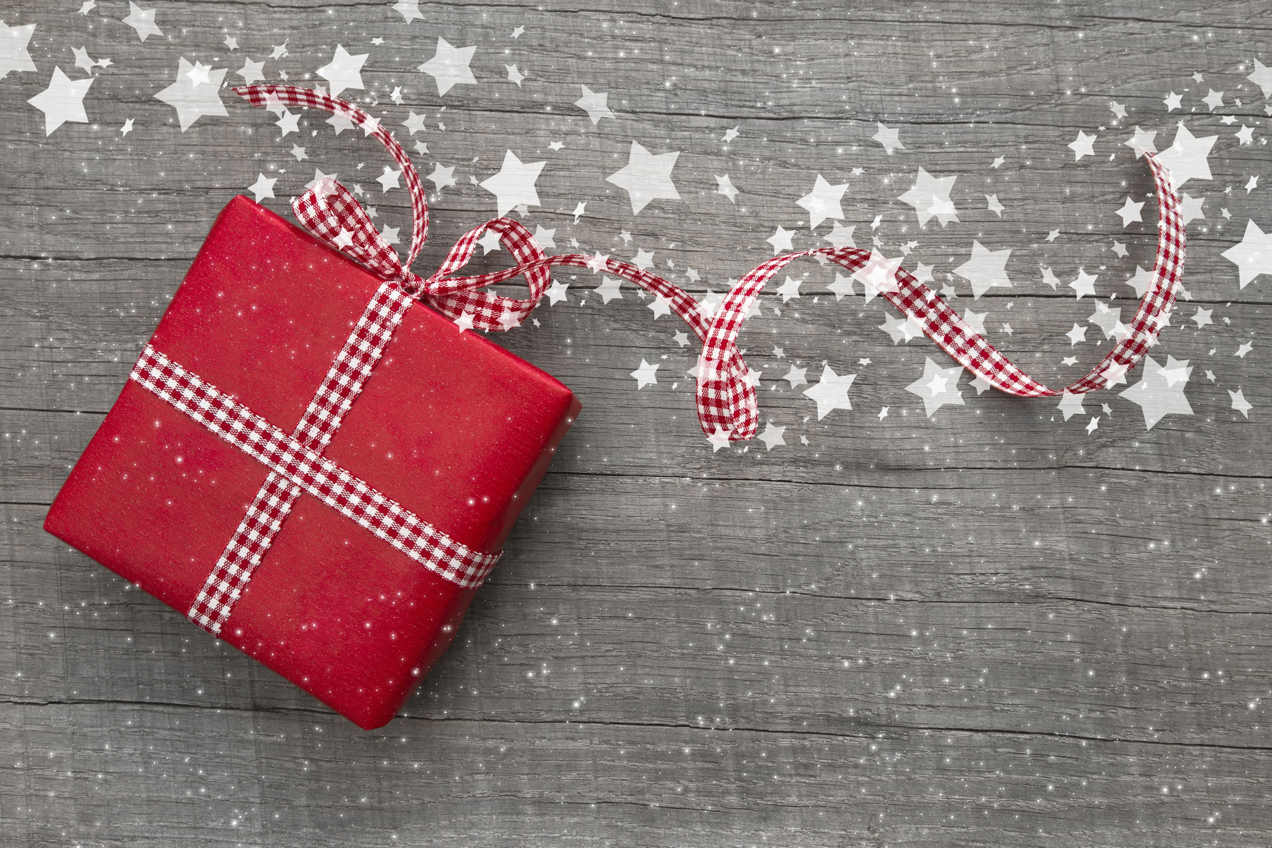 wallpaper christmas  new year  gifts  stars  decorations
