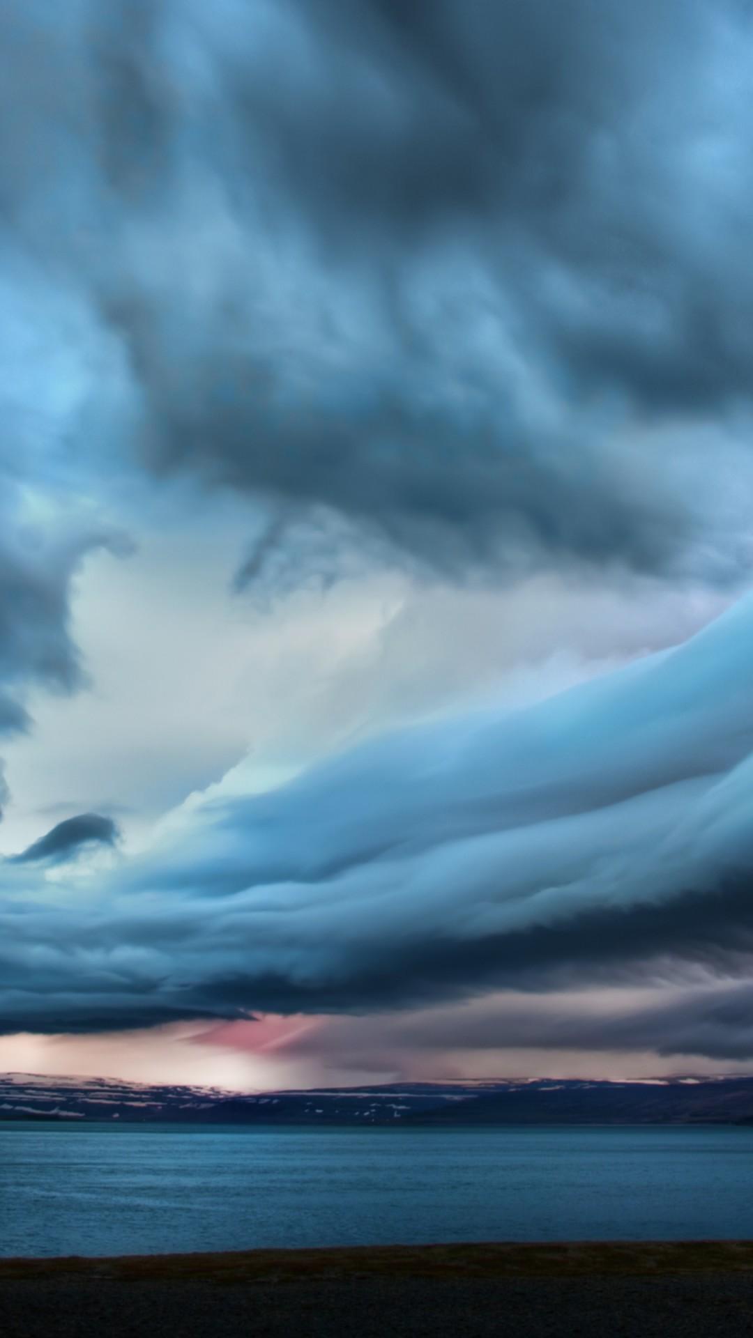 Wallpaper Clouds 4k Hd Wallpaper Sky Iceland Beach