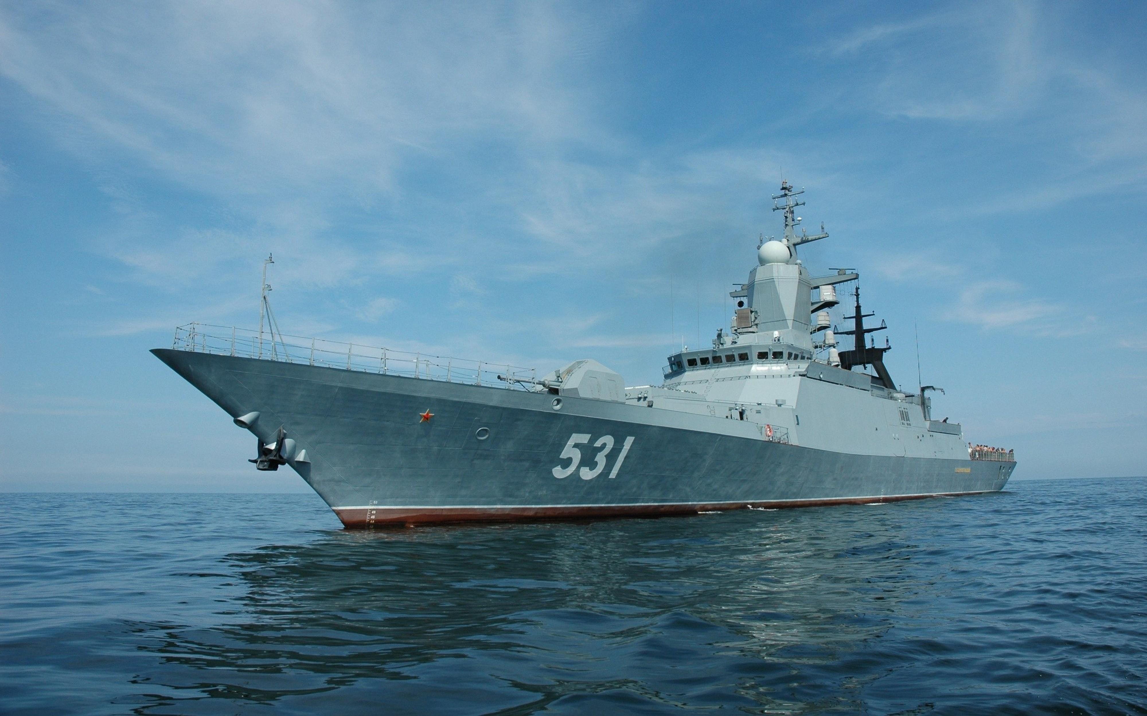 wallpaper corvette soobrazitelnyy russian navy