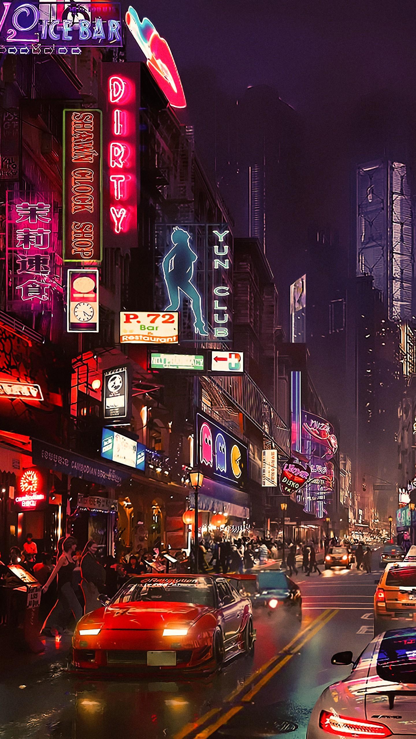 Wallpaper Cyberpunk Future World 4k Art 20320