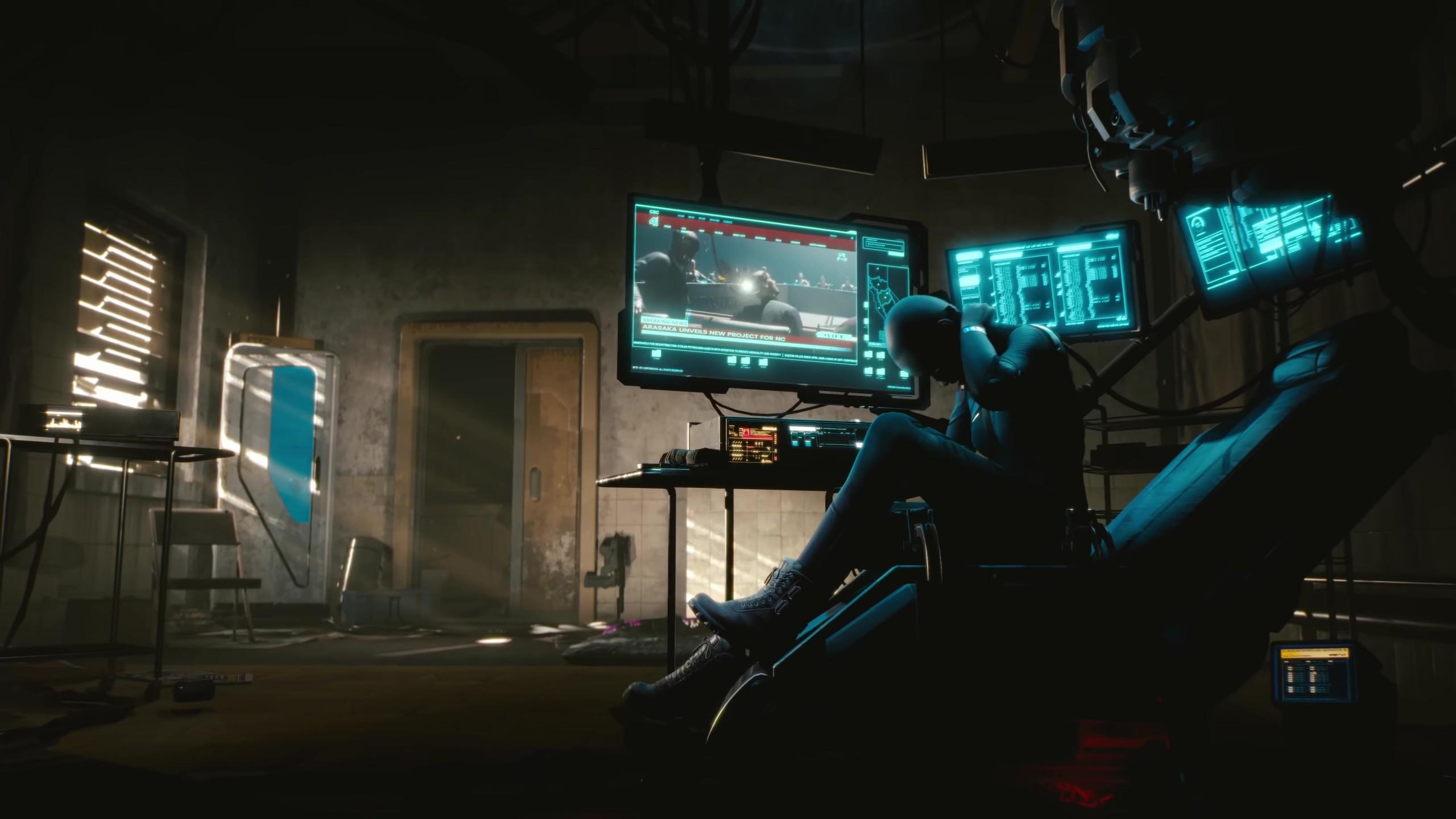 Wallpaper Cyberpunk 2077, E3 2018, screenshot, 4K, Games ...