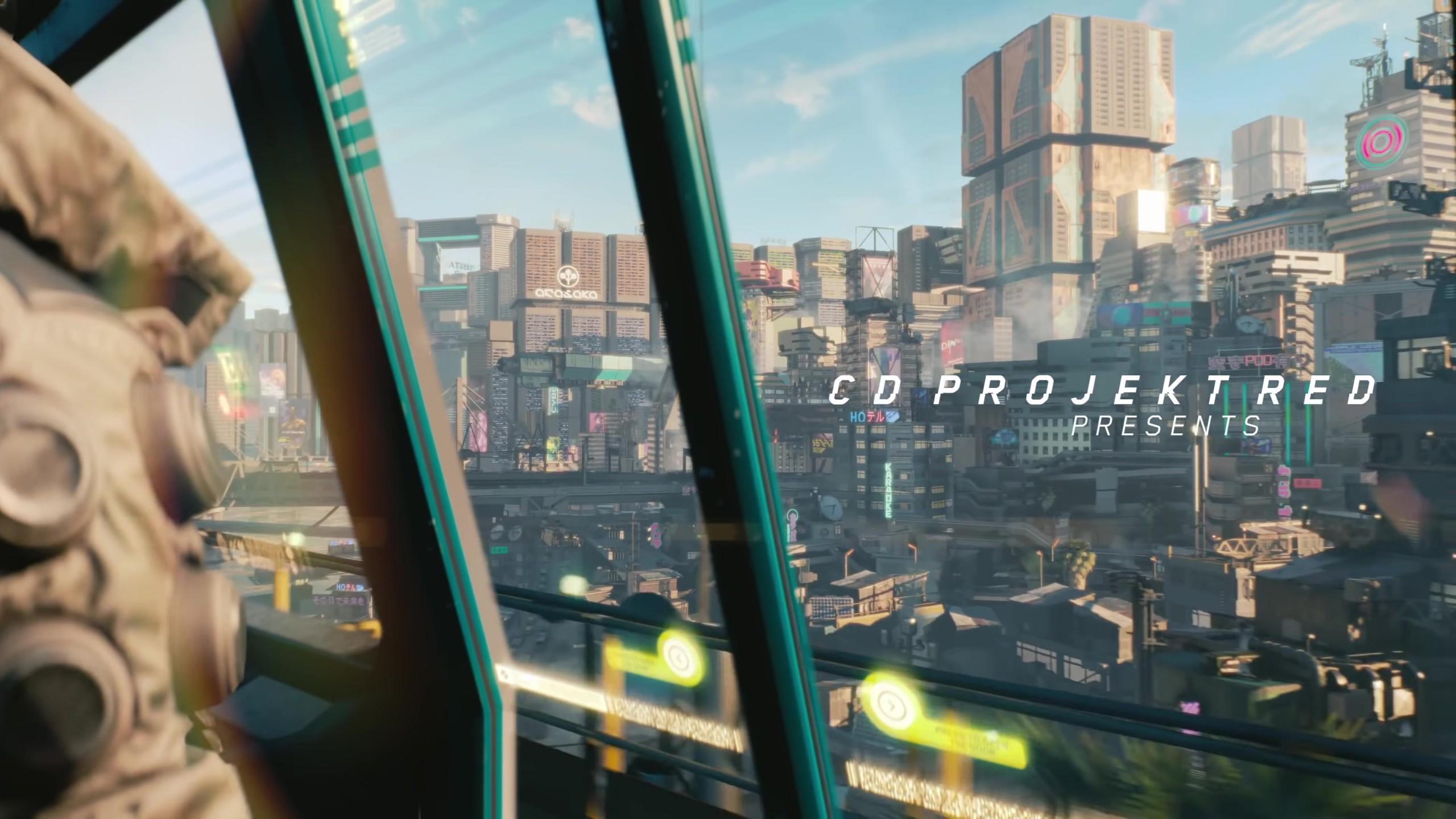 Wallpaper Cyberpunk 2077 E3 2018 Screenshot 4k Games