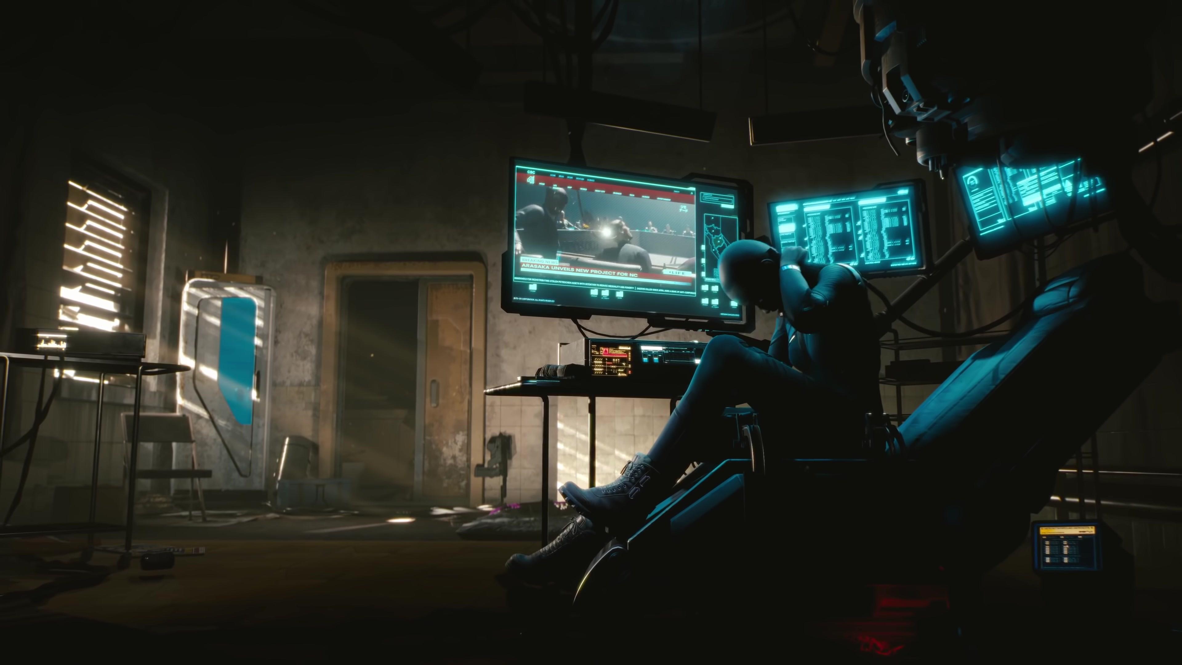 Wallpaper cyberpunk 2077 e3 2018 screenshot 4k games 19064 - Cyberpunk 2077 wallpaper 4k ...