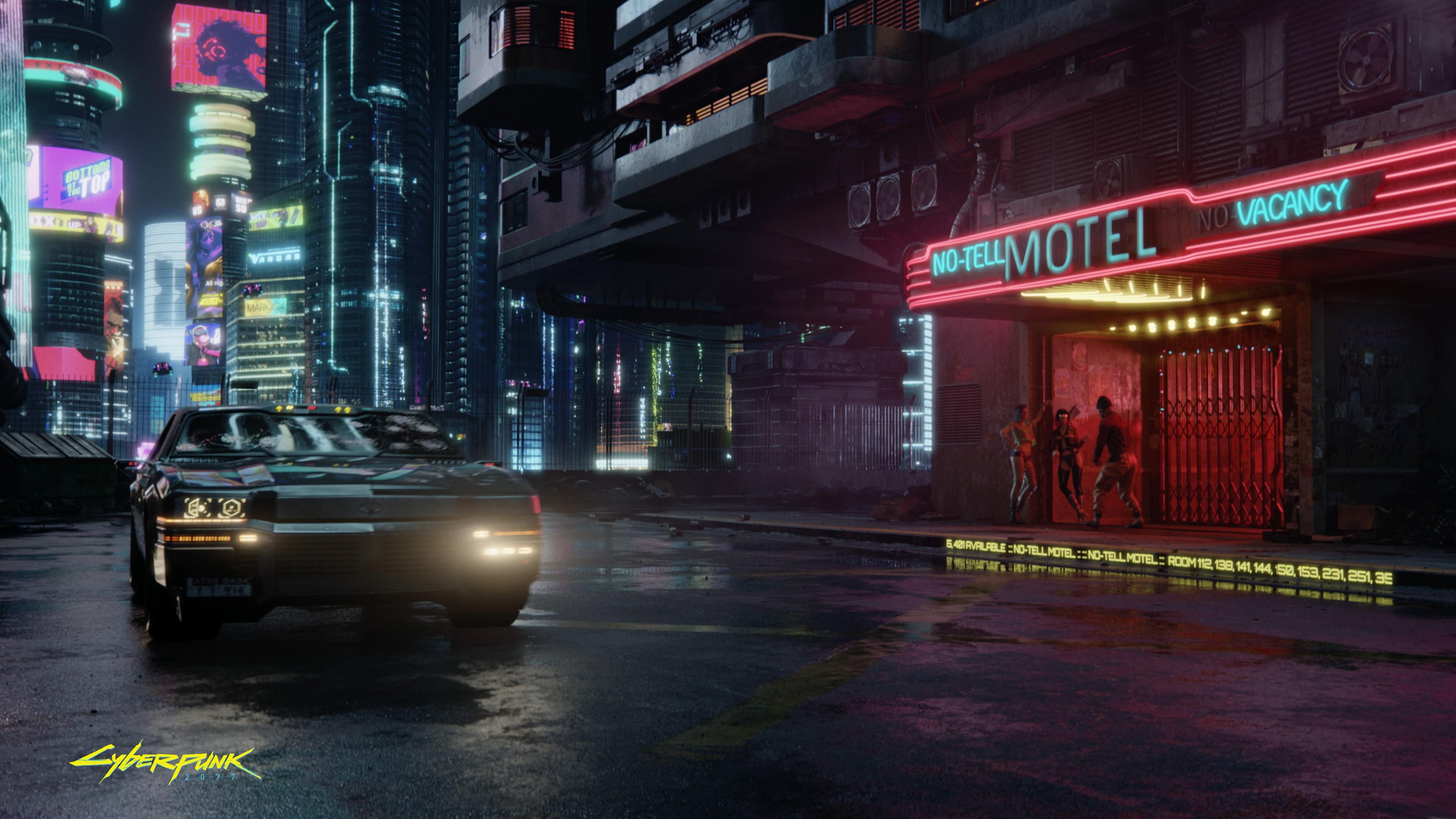 Wallpaper Cyberpunk 2077 E3 2019 Screenshot 4K Games
