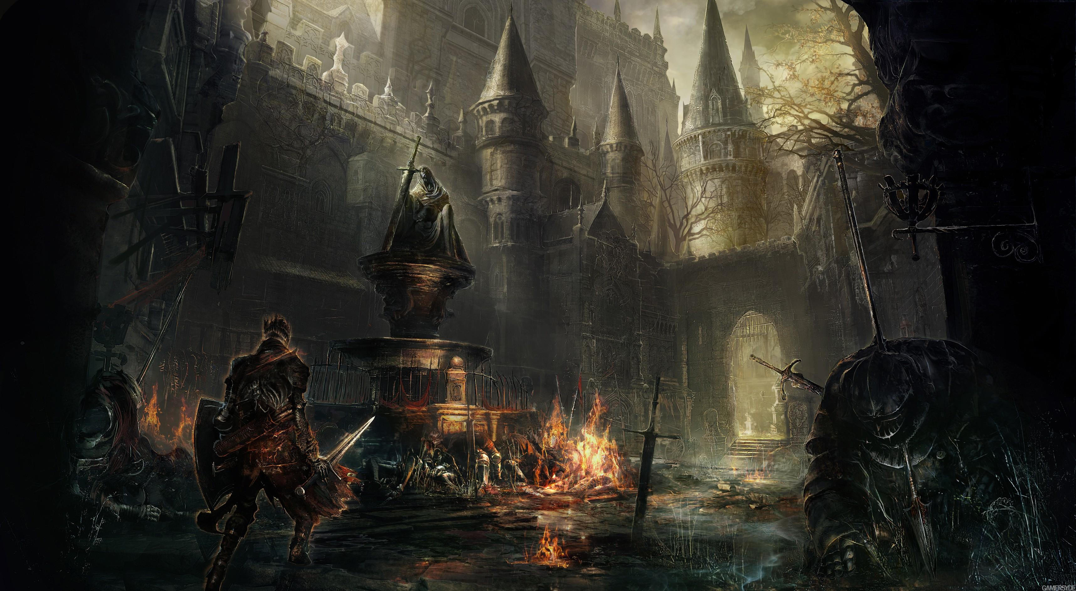 art dark souls 3 best games 2015 game fantasy pc ps4 xbox one