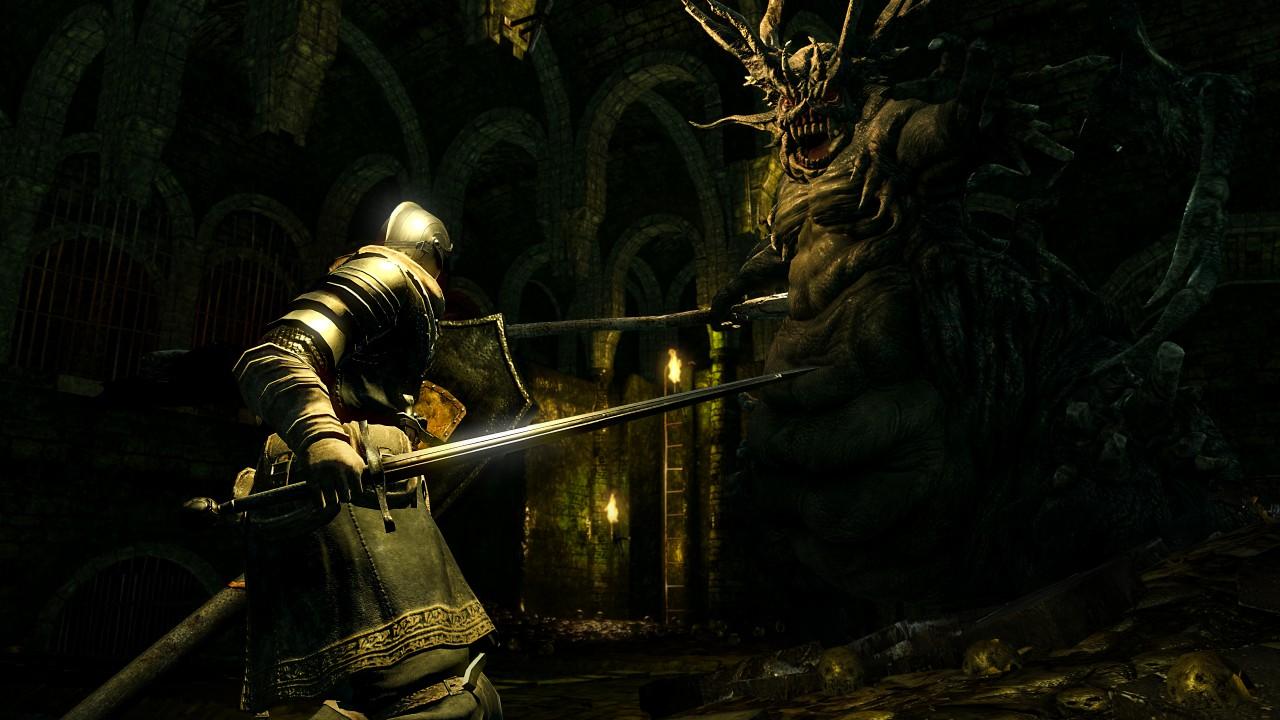 Wallpaper Dark Souls Remastered, Screenshot, 4K, Games #18754