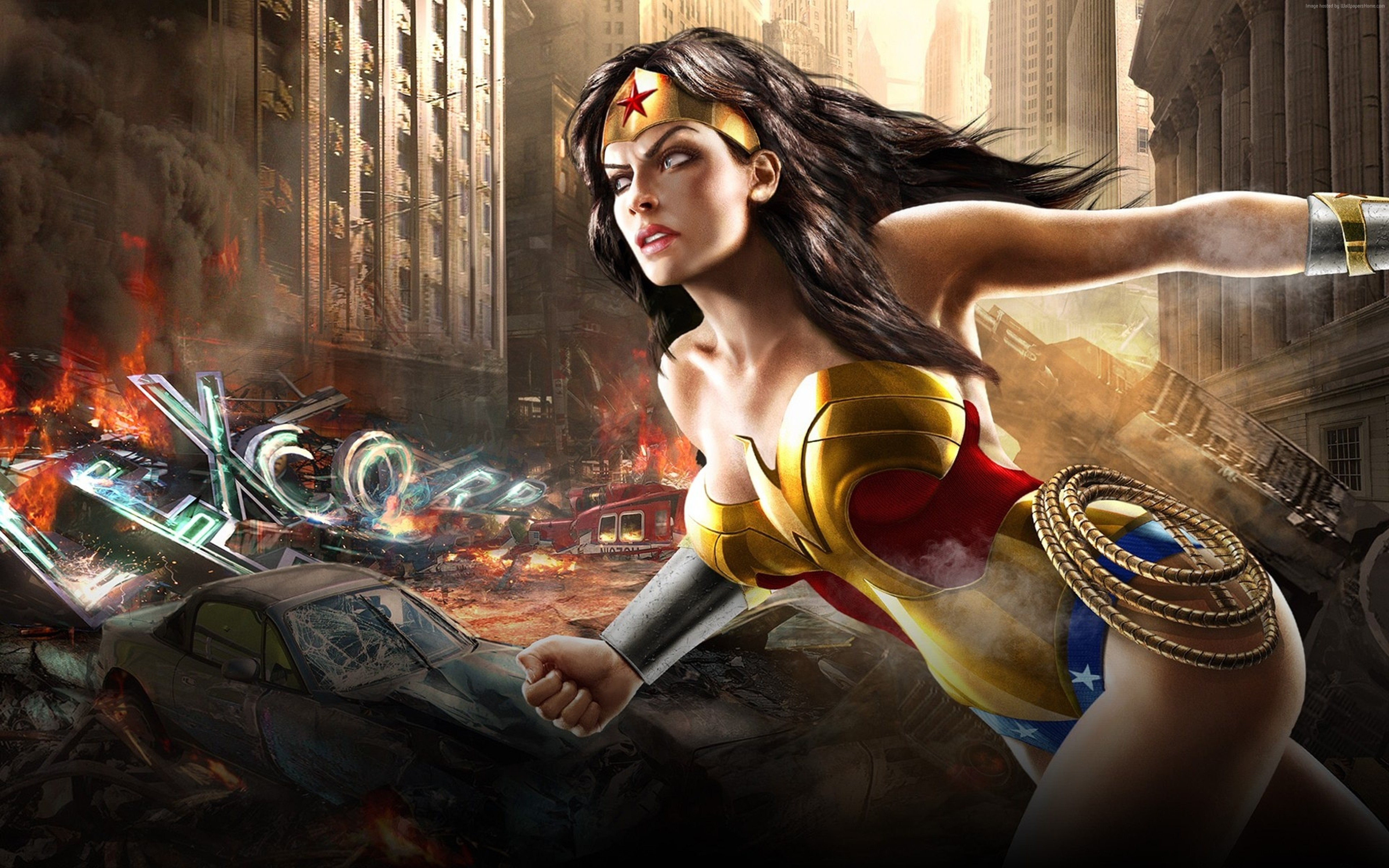dc universe online 4000x2500 dcuo game mmorpg wonder woman marvel 2206
