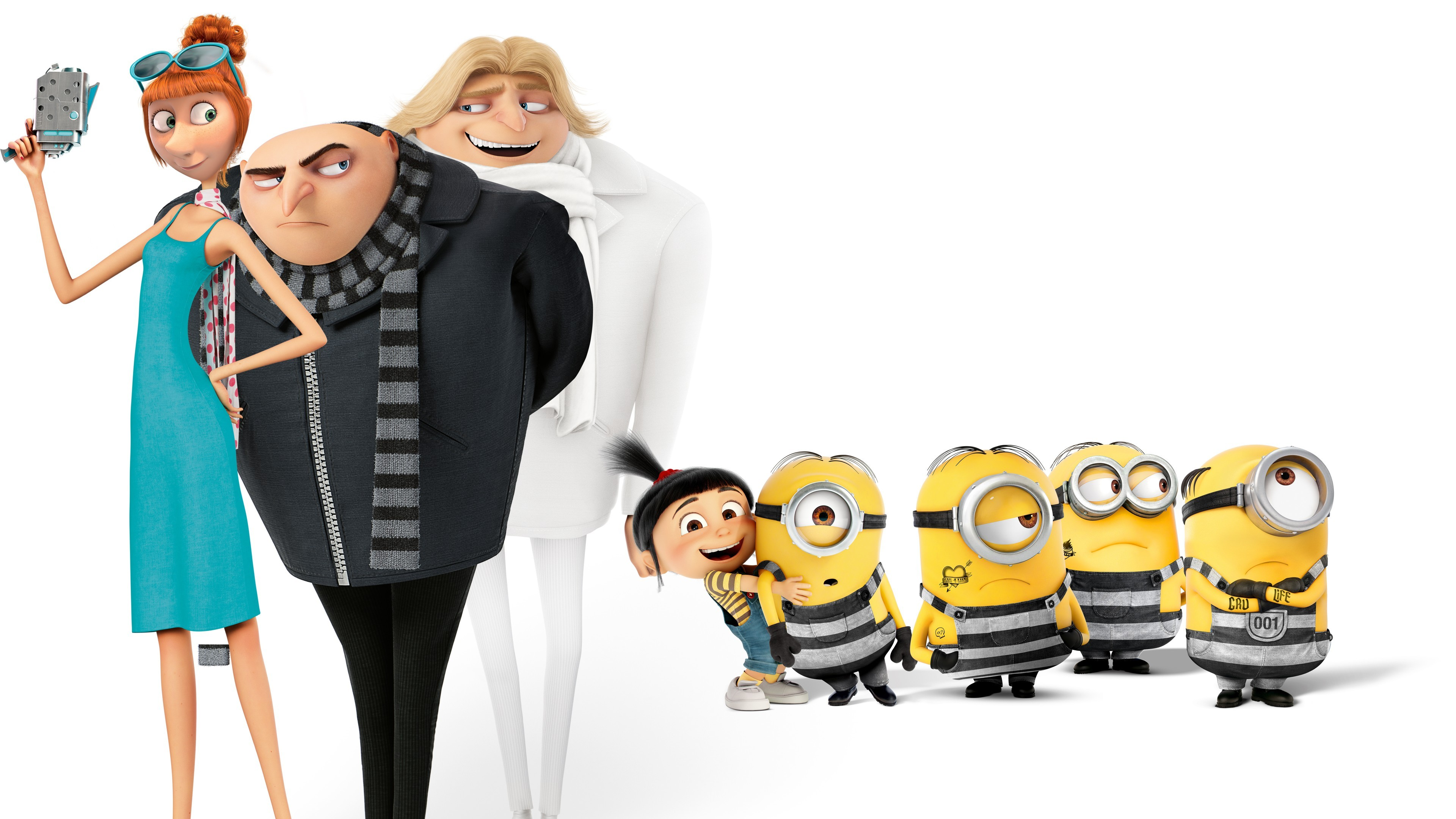 Wallpaper Despicable Me 3 Dru Gru 4k Poster Movies 13680