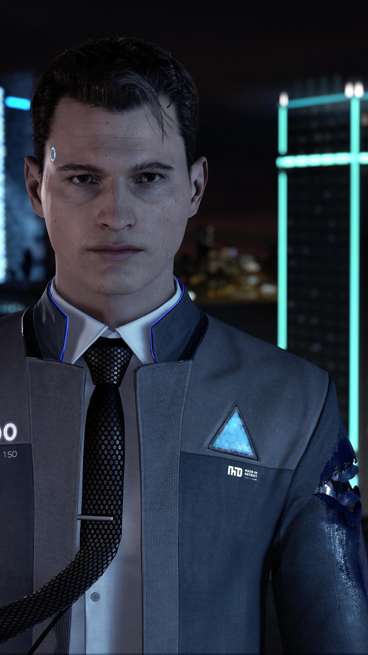 Wallpaper Detroit Become Human 4k E3 2017 Screenshot Games 14314