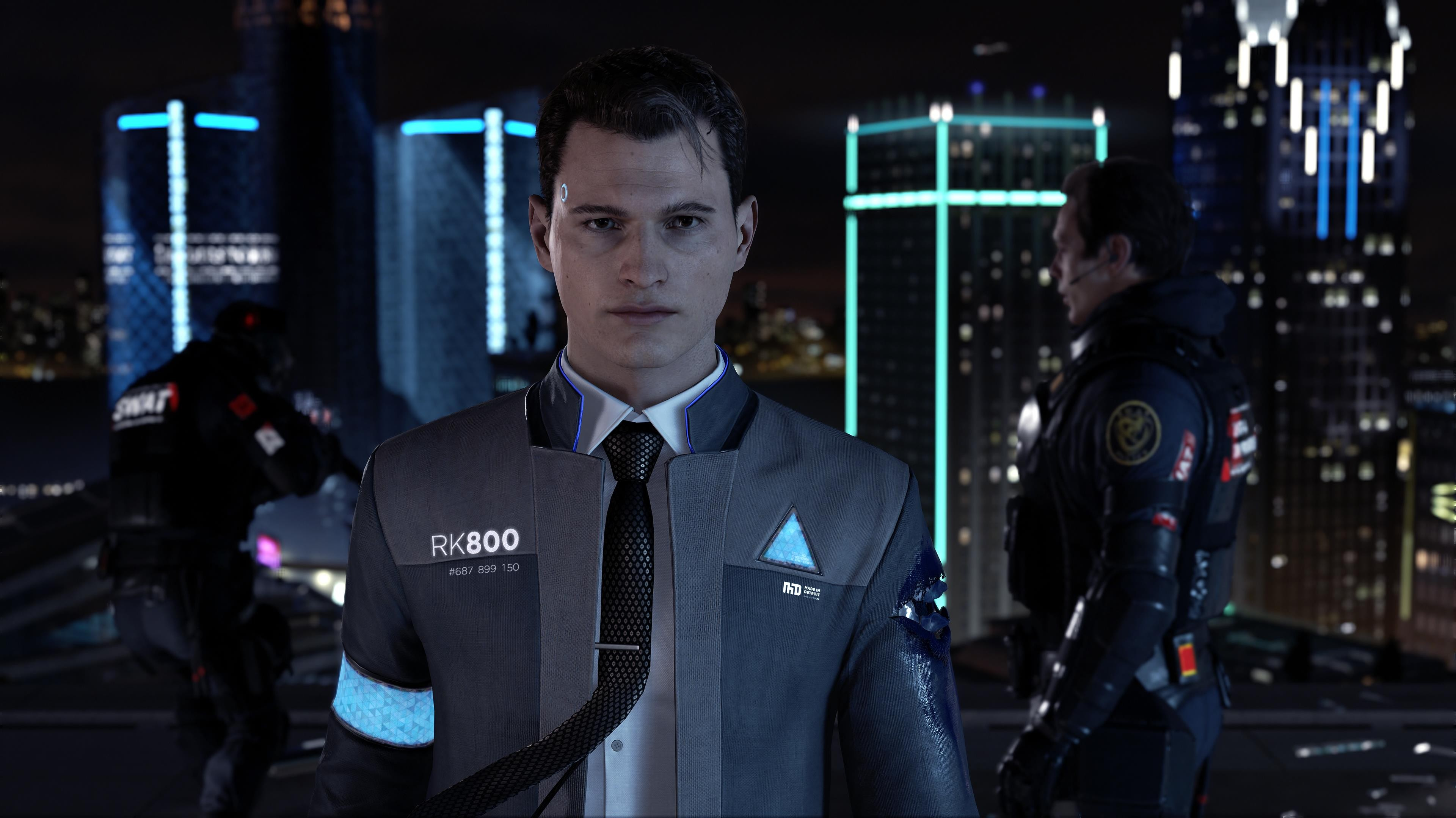 Wallpaper Detroit: Become Human, 4k, E3 2017, Screenshot