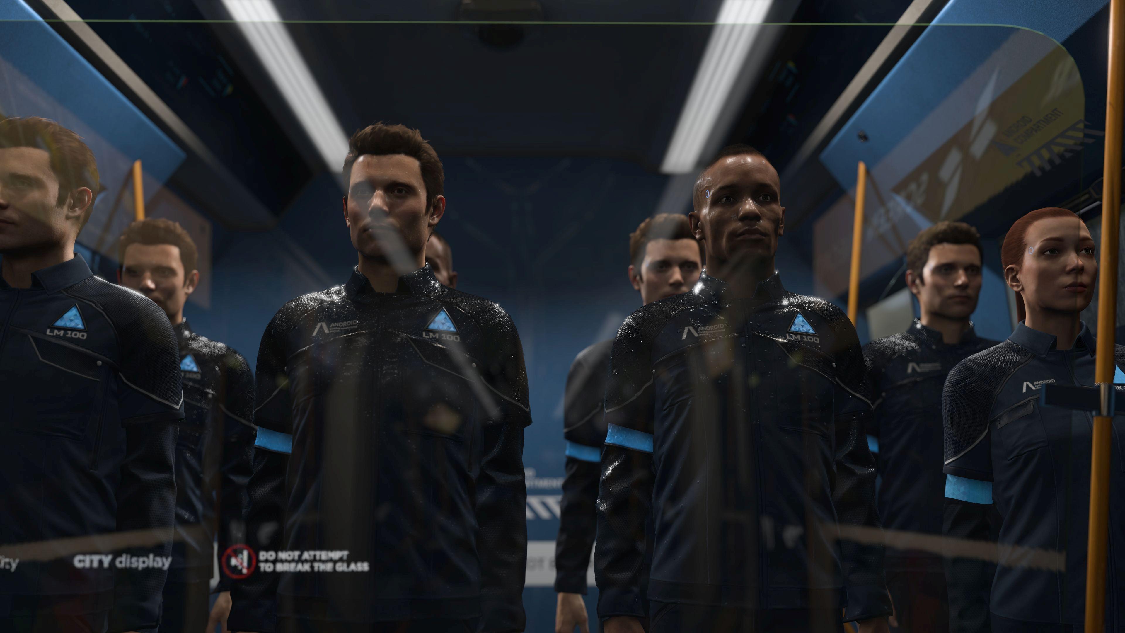 Wallpaper Detroit Become Human Screenshot 4k Games 18280