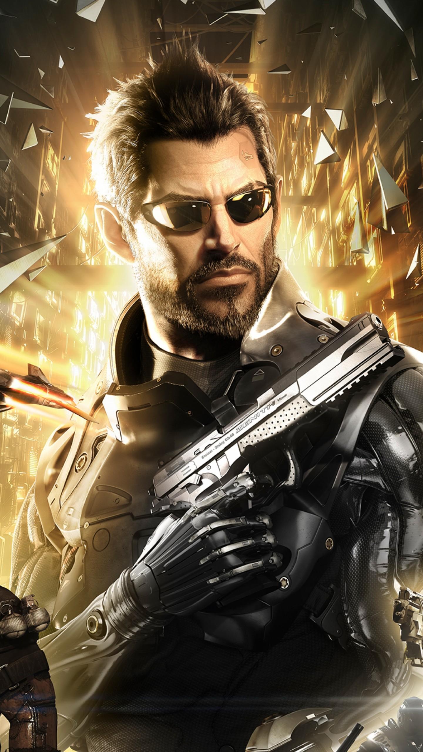 Wallpaper Deus Ex Mankind Divided Best Games 2015 Game