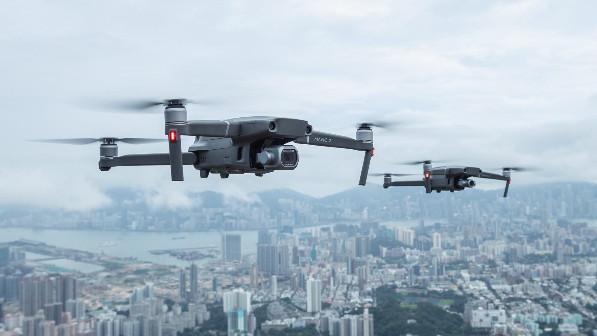 Wallpaper DJI Mavic 2 Pro, best drones, 4K, Hi-Tech #20204