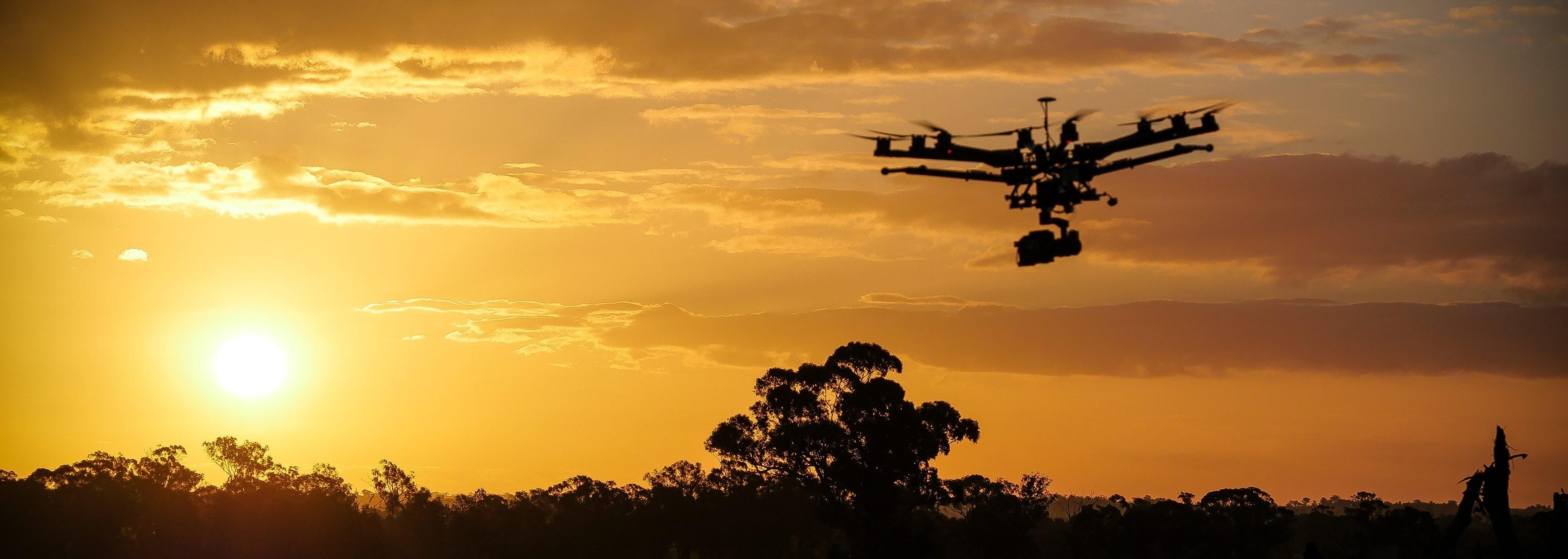 Wallpaper Dji Spreading Wings S1000 Plus Octocopter Best Drones Sunset Hi Tech 13285