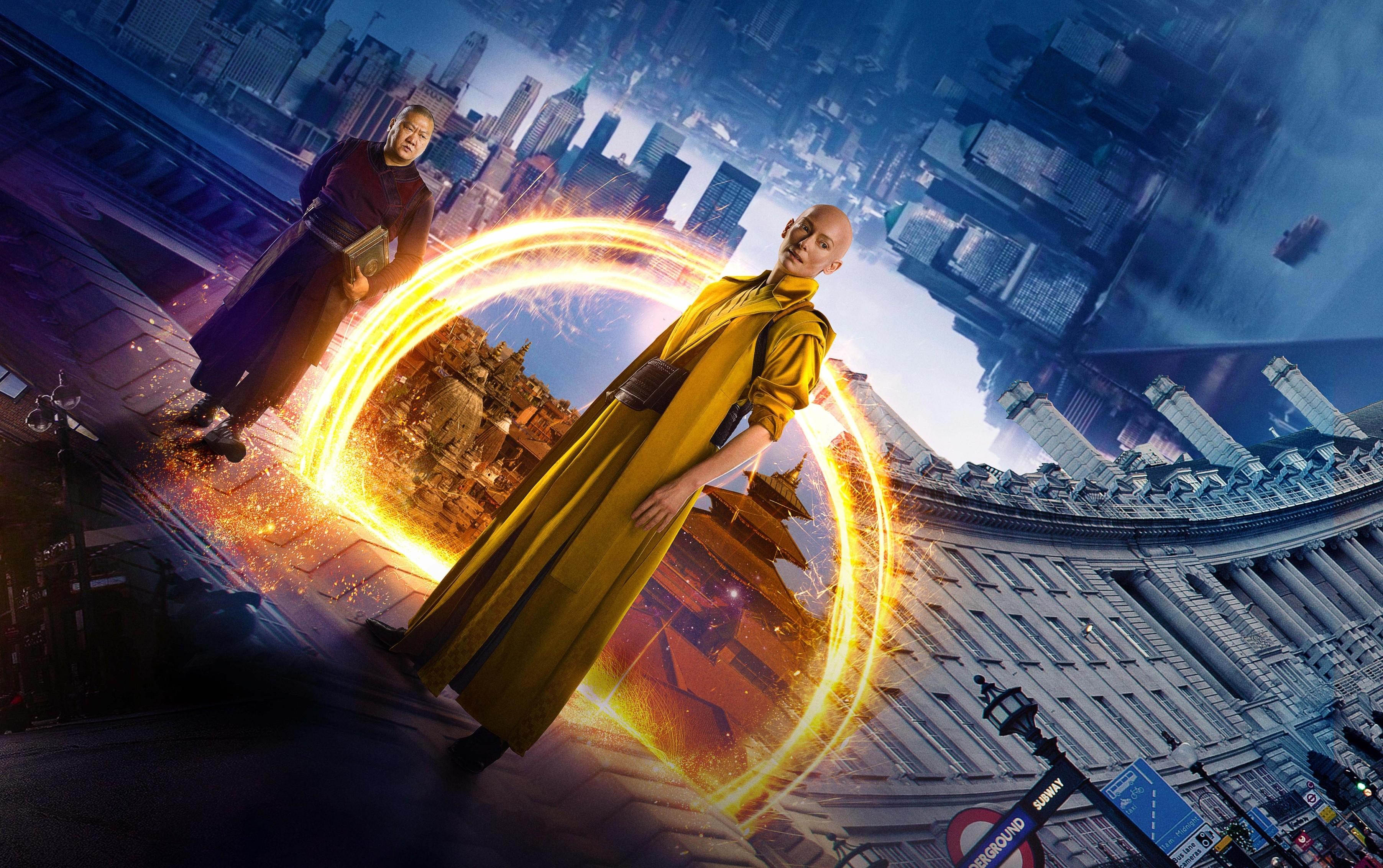 Doctor Strange Marvel Movie Wallpapers Widescreen Cinema: Wallpaper Doctor Strange, Tilda Swinton, Best Movies