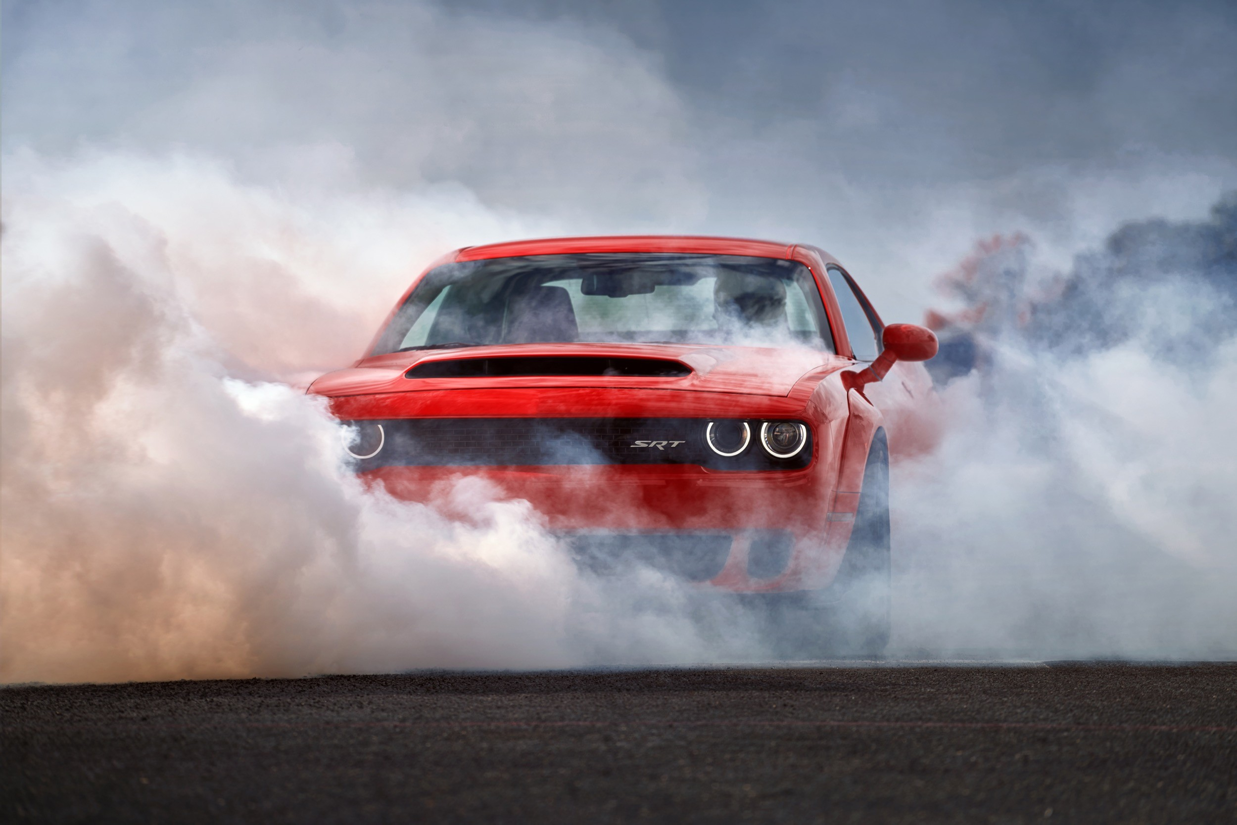 Dodge Demon Wallpaper >> Wallpaper Dodge Challenger SRT Demon, HD wallpaper, red, 2017 New York Auto Show, Cars & Bikes ...