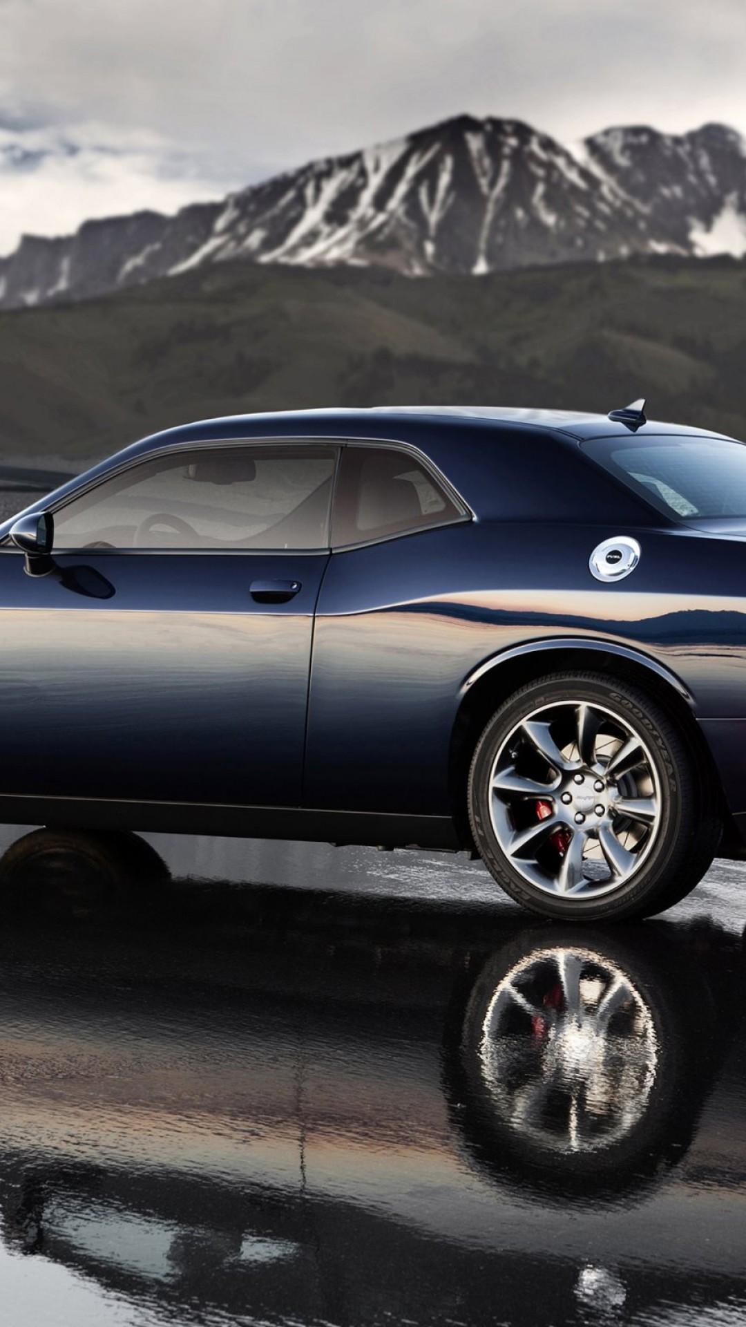 Wallpaper Dodge Challenger Srt Hellcat Top Supercars 2015