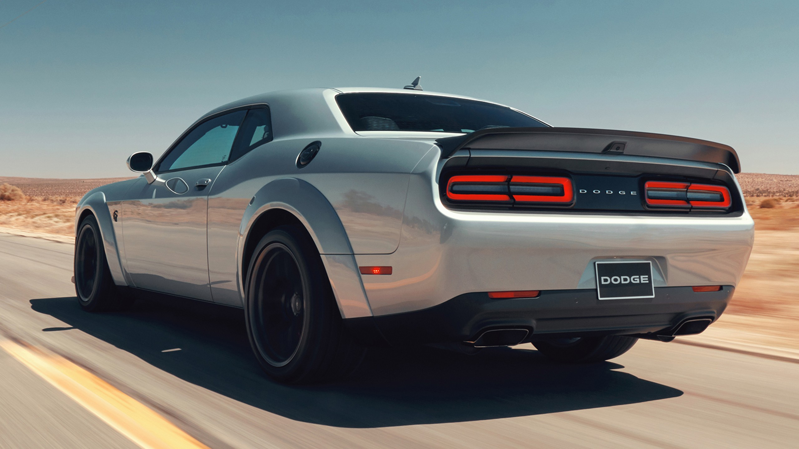Wallpaper Dodge Challenger SRT Hellcat 2019 Cars 4K Bikes