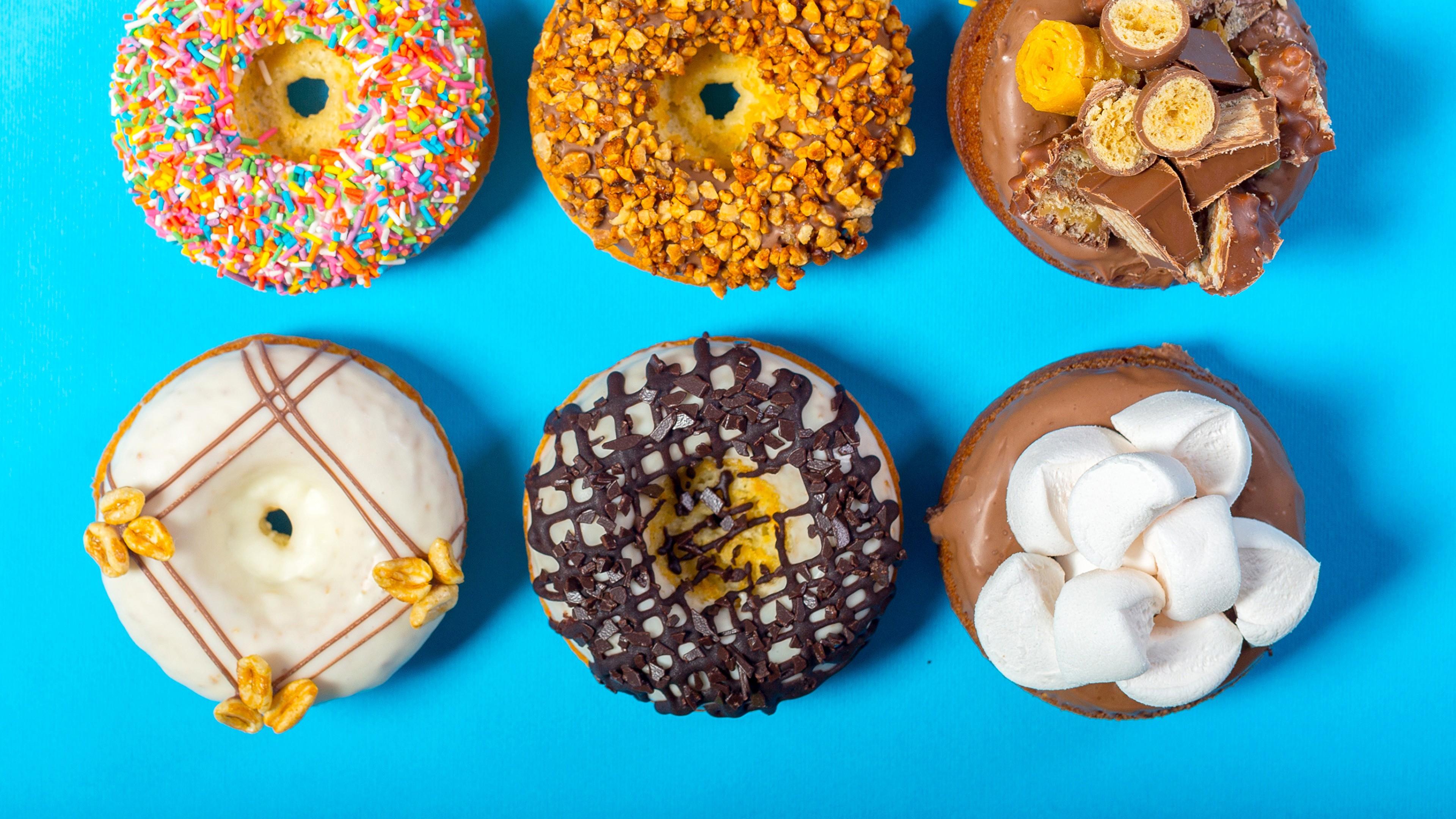 Wallpaper Donuts Delicious 4k Food 14763