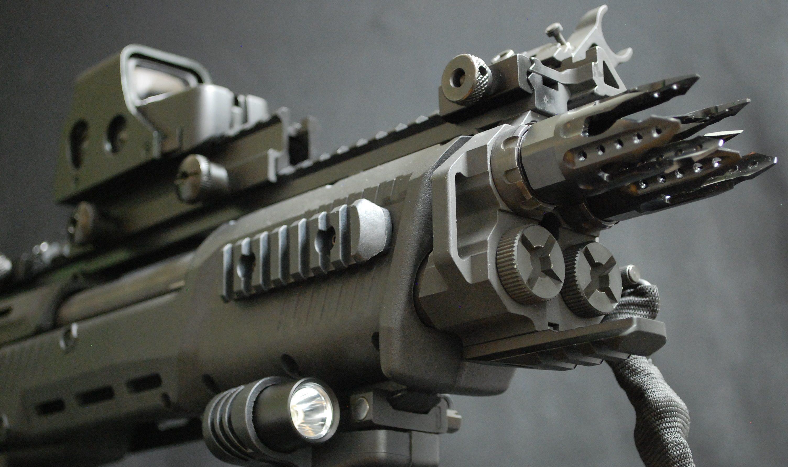 Wallpaper DP 12 SHOT Show 2017 double barrel shotgun Military
