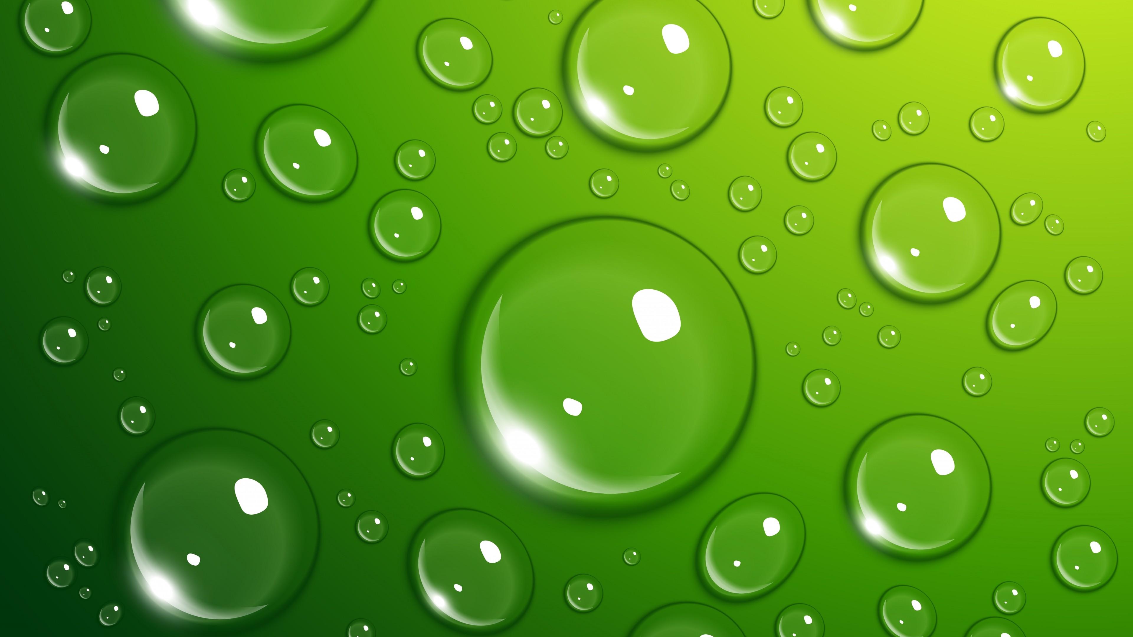 Wallpaper Drops 4k 5k Wallpaper 8k Green Water Os 557