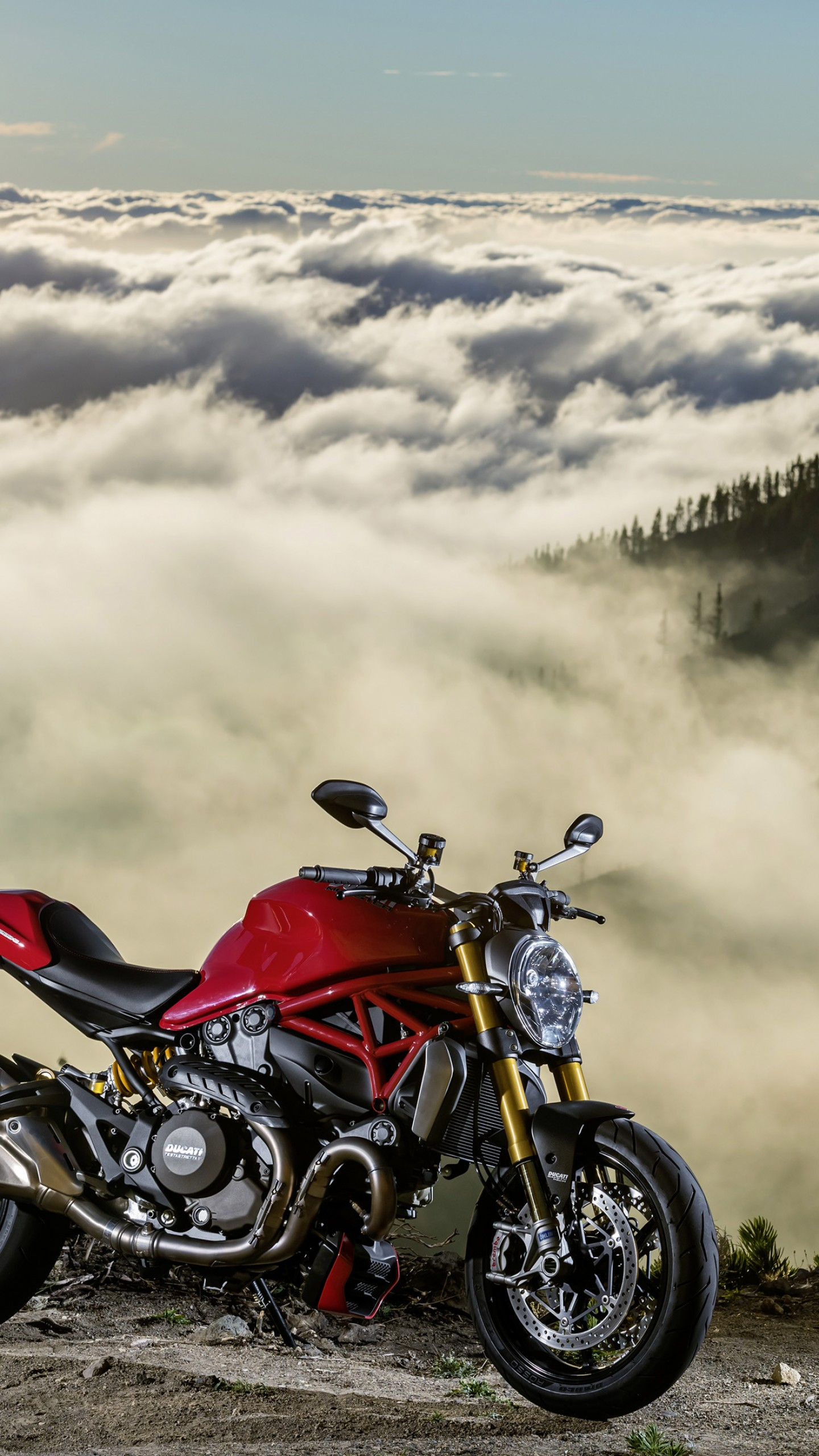 Wallpaper Ducati Monster 1200S, Best Bikes 2015